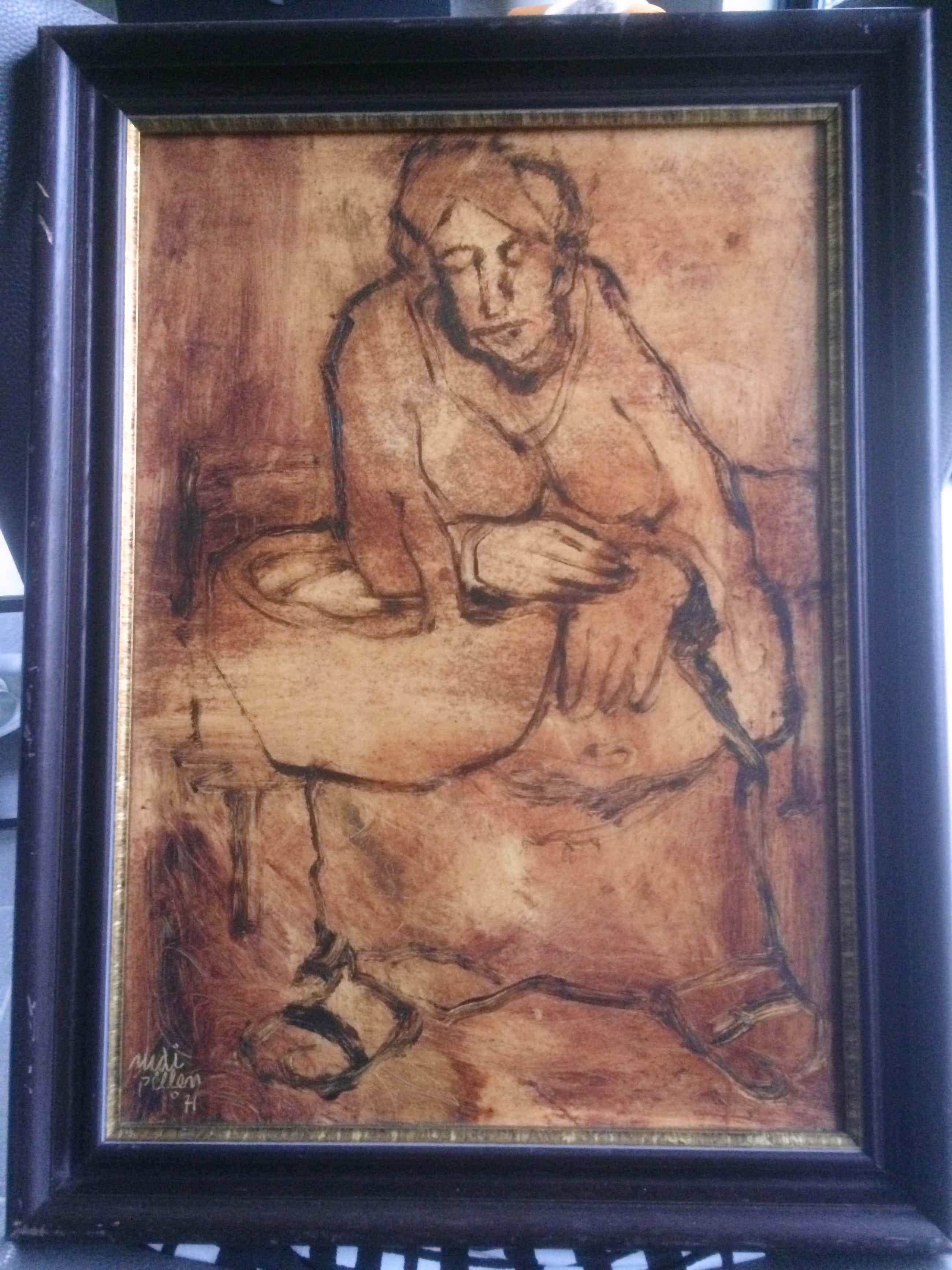 Rudi Pillen - Schilderij van een Vrouw kopen? Bied vanaf 440!