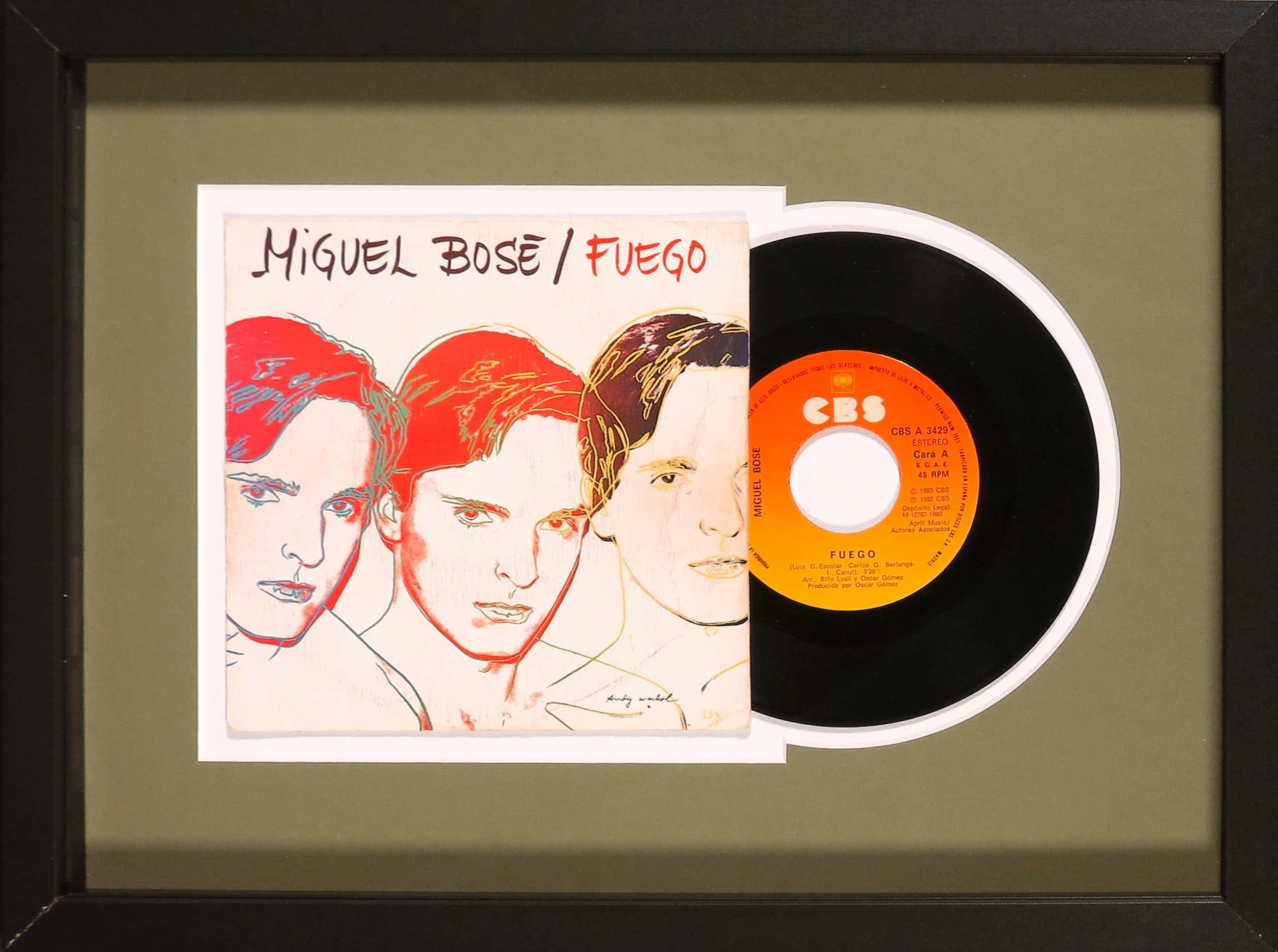 Andy Warhol - Miguel Bosé - Fuego kopen? Bied vanaf 20!