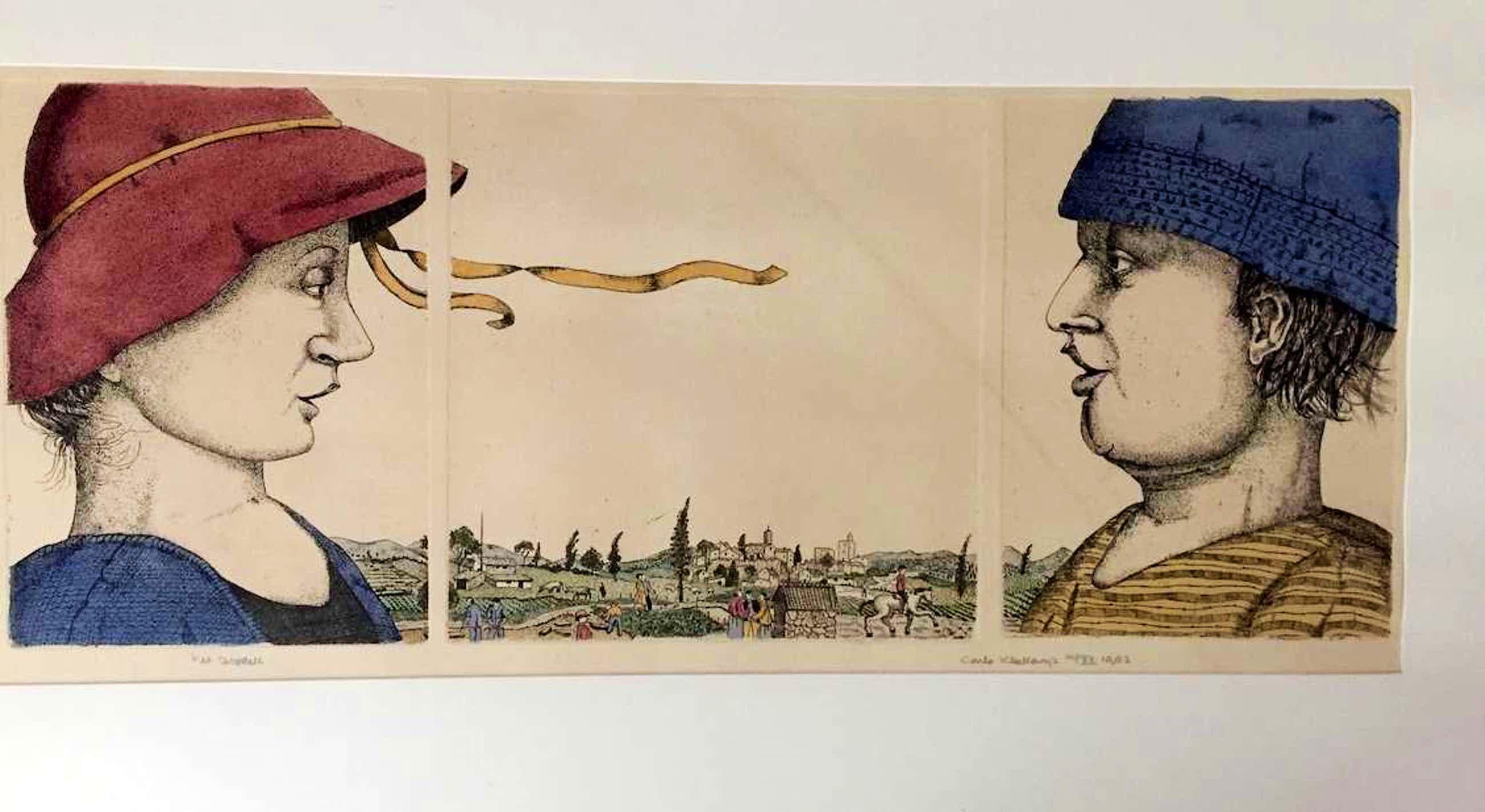 Carla Kleekamp - Het Gesprek - 3 x kleuretsen kopen? Bied vanaf 60!