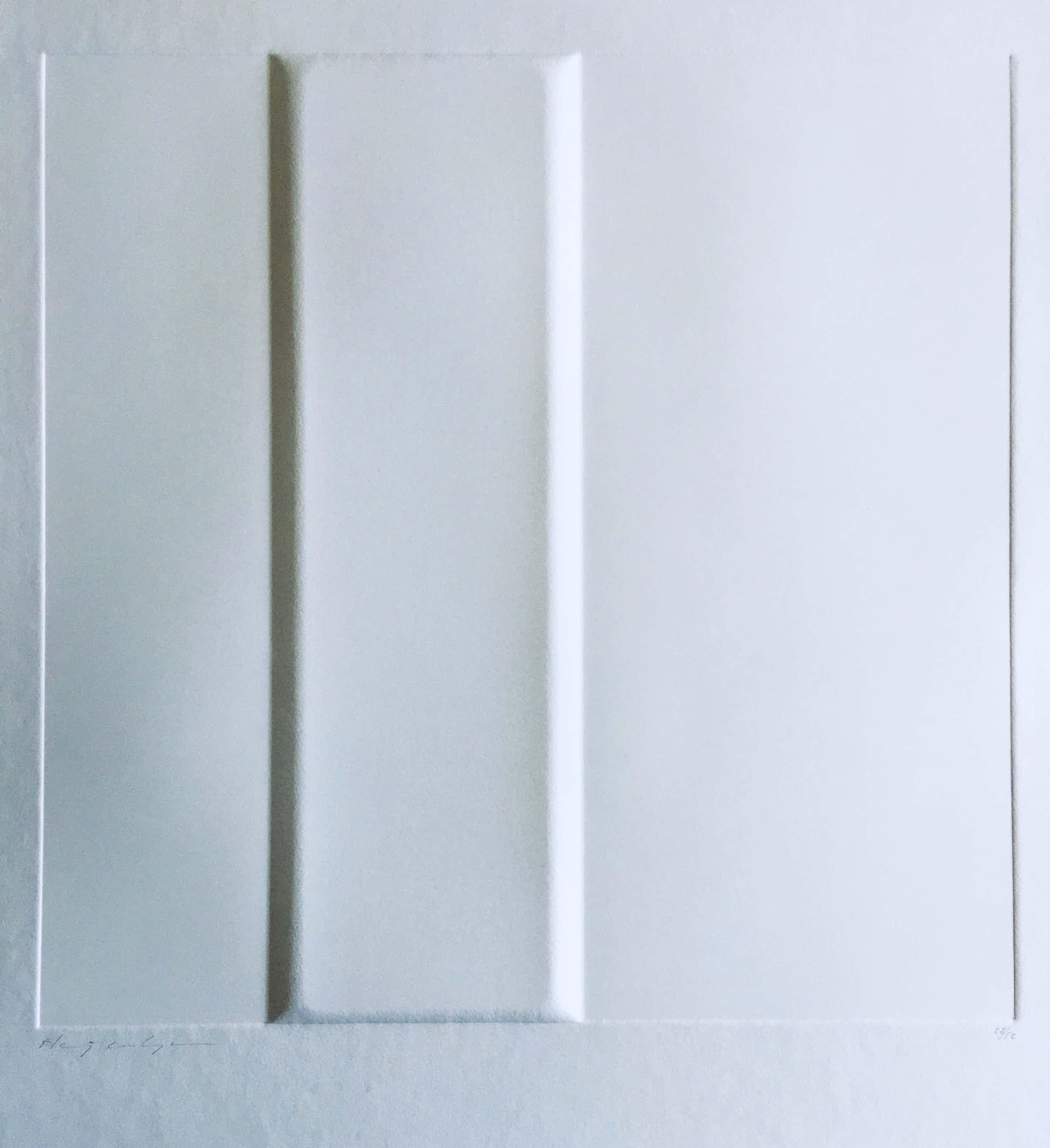 Harry van Kuyk - minimalistische diepdruk - 1973 - ZERO. kopen? Bied vanaf 355!