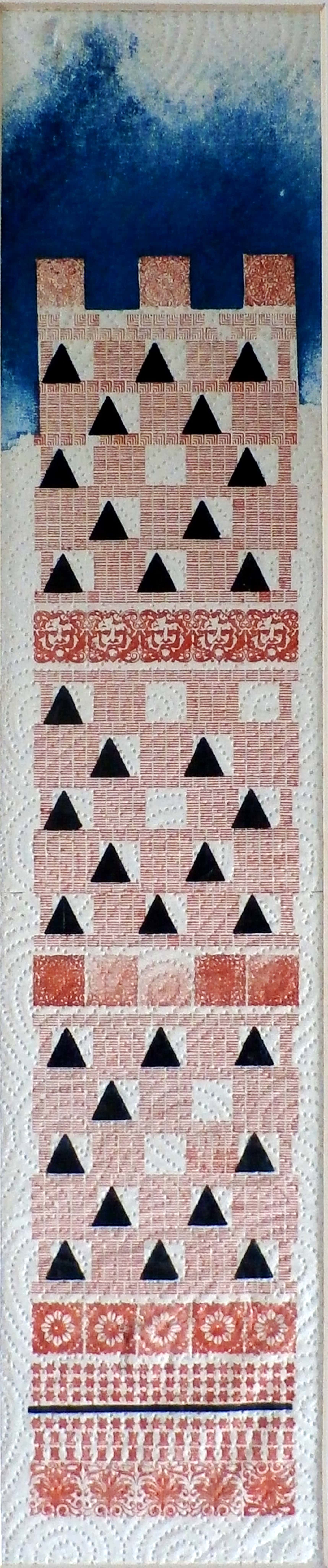 Frans de Jong - abstracte/geometrische voorstelling kopen? Bied vanaf 45!