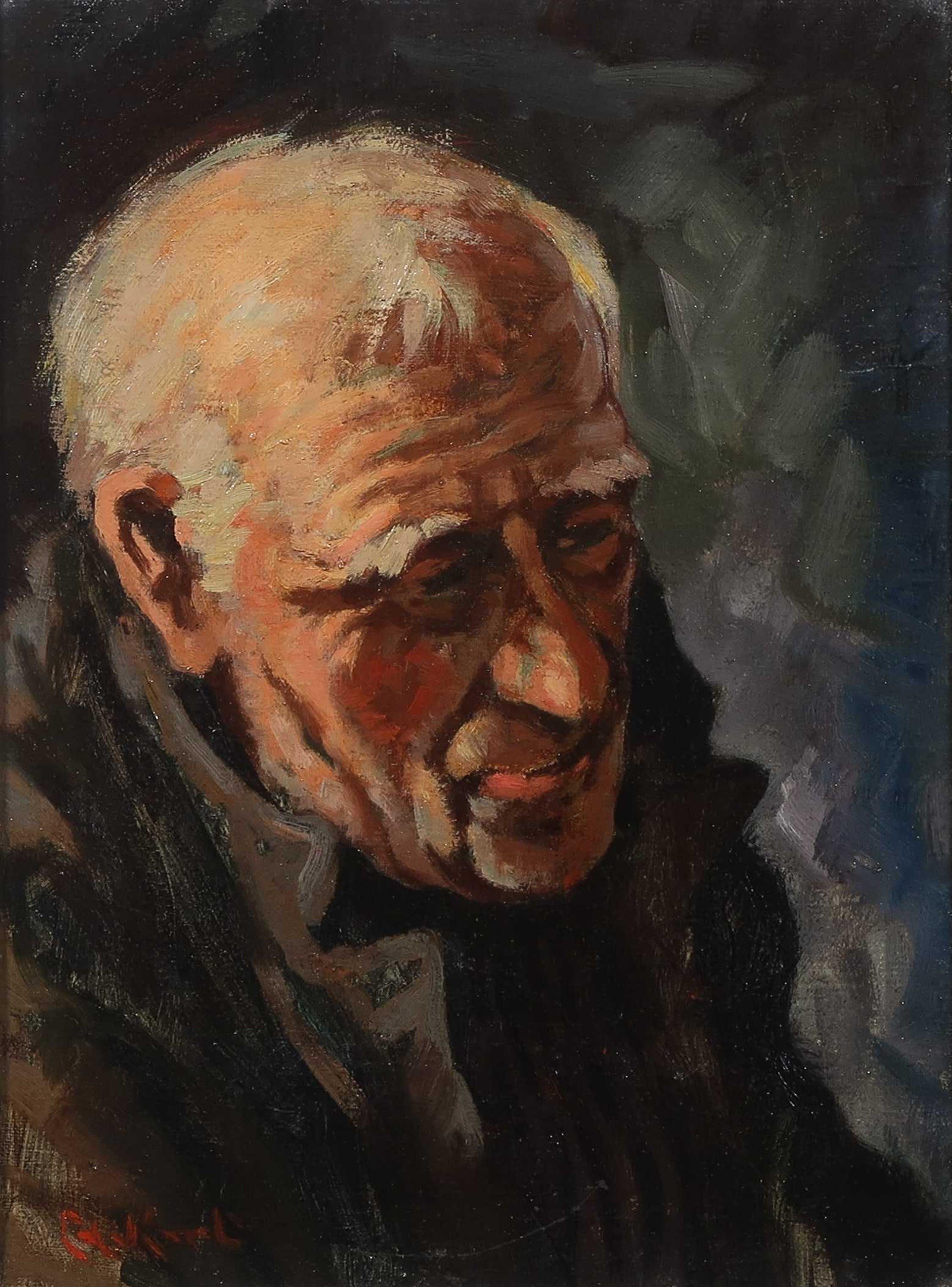 Cornelis de Kort - Z.T., Portret van een man kopen? Bied vanaf 40!