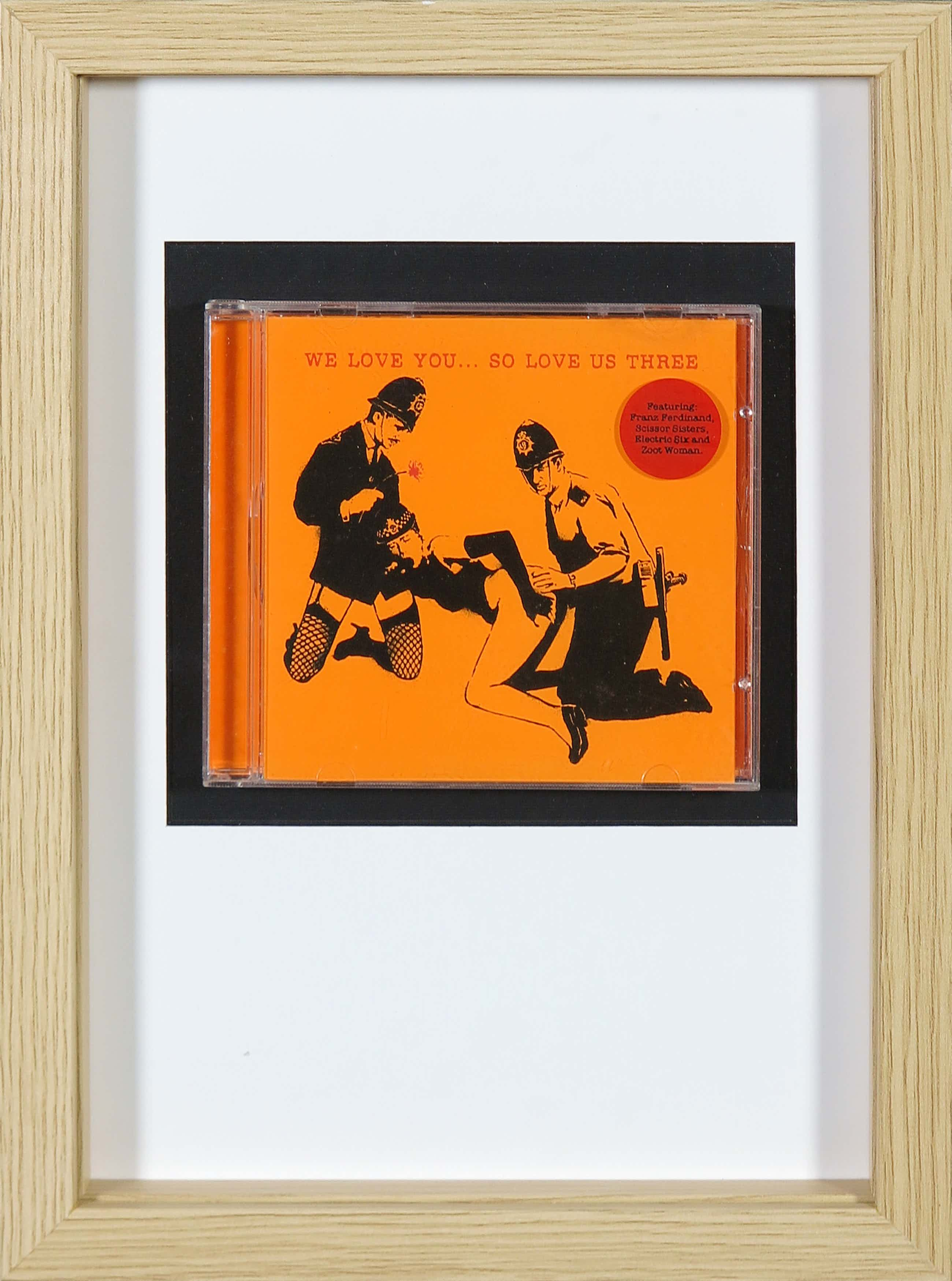 Banksy - We love you... so love us three (CD) kopen? Bied vanaf 52!