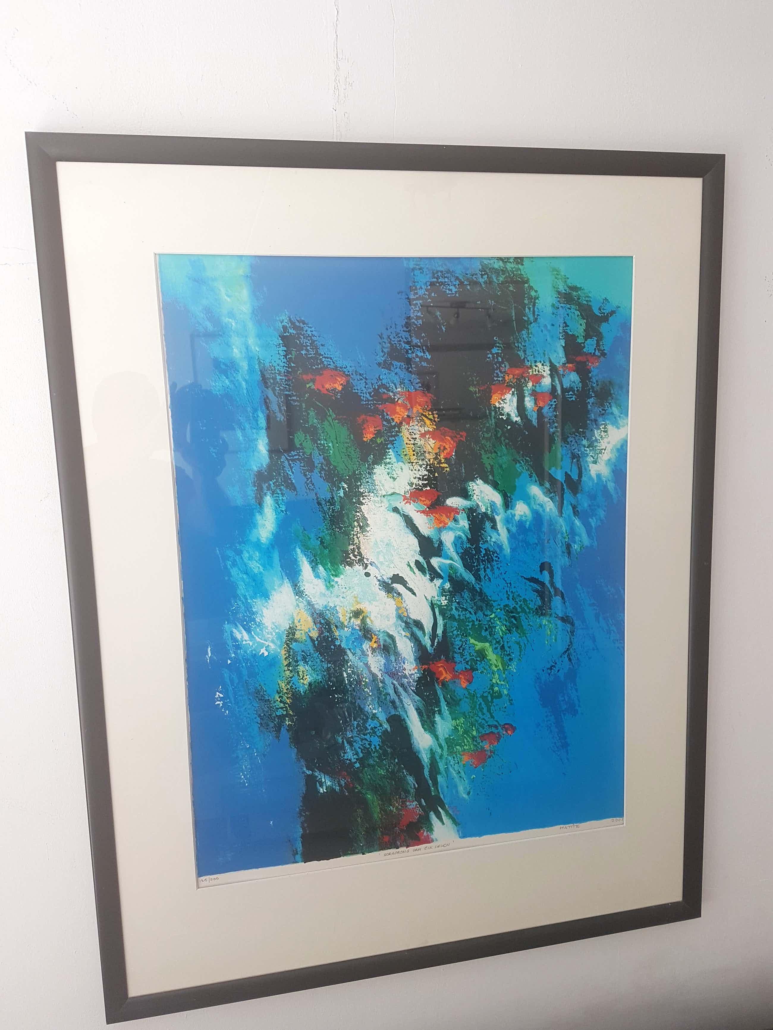 Mattie Schilders - Abstract kopen? Bied vanaf 50!