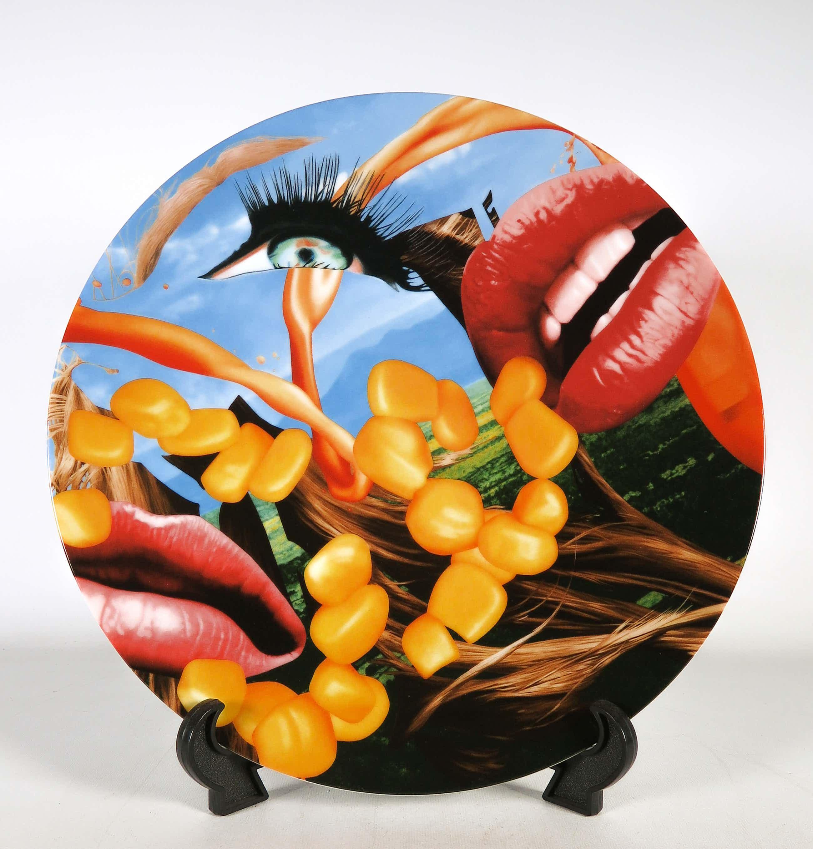 Jeff Koons - Gelimiteerd porseleinen bord - Lips - Uitgevoerd door Bernardaud kopen? Bied vanaf 291!