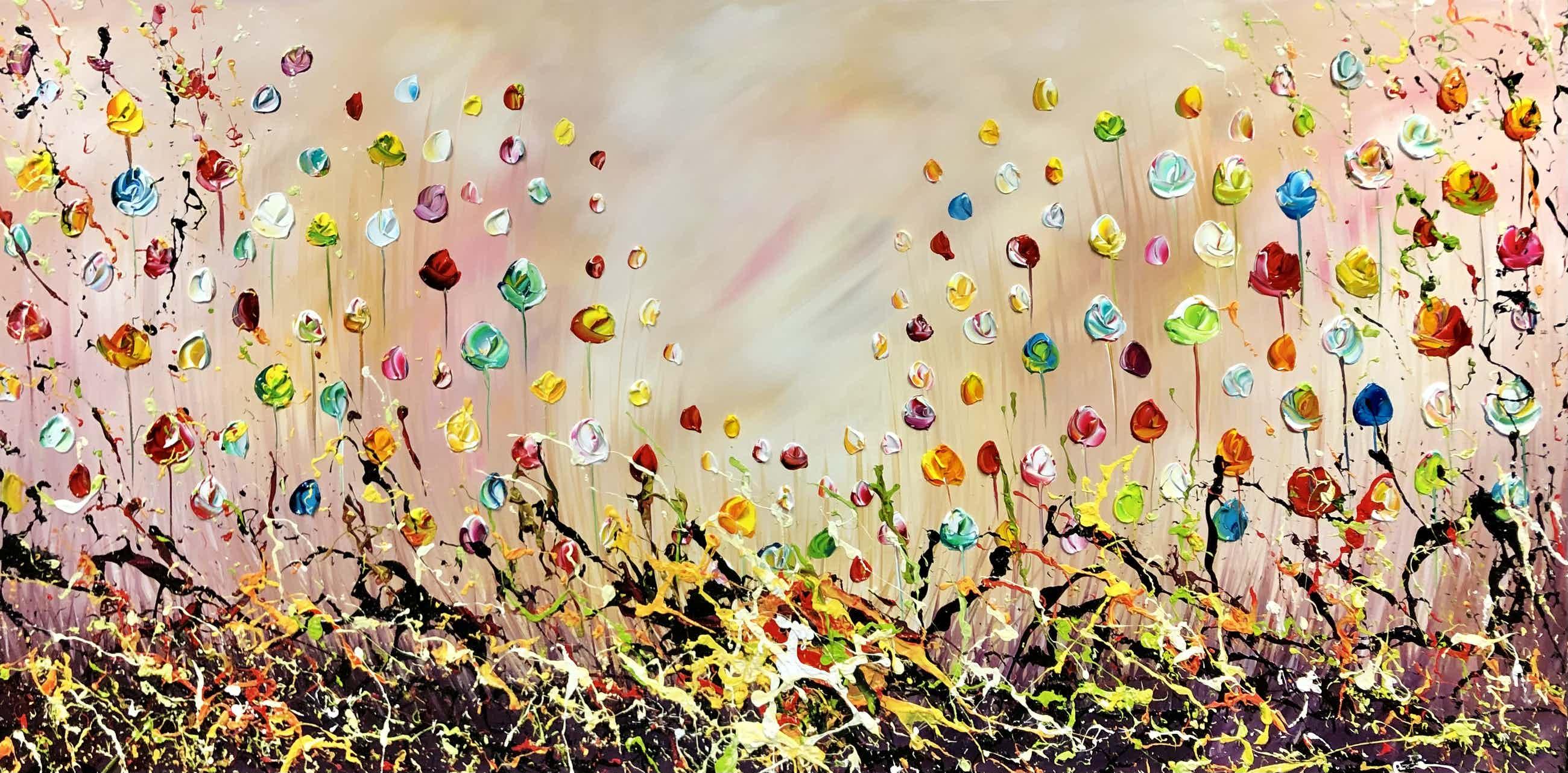 Gena - Colorful Flowers kopen? Bied vanaf 360!