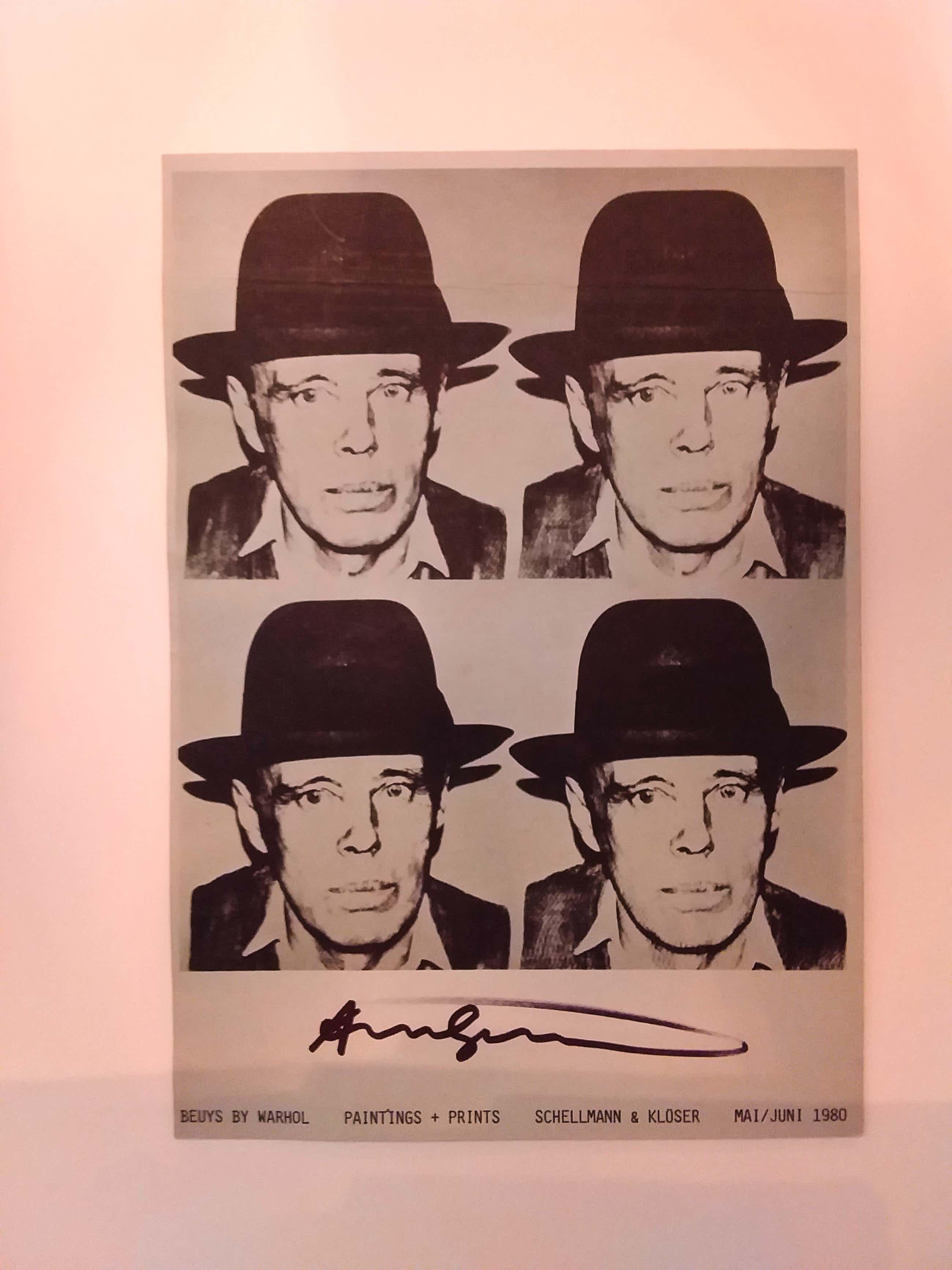 Andy Warhol - Beuys by Warhol kopen? Bied vanaf 900!