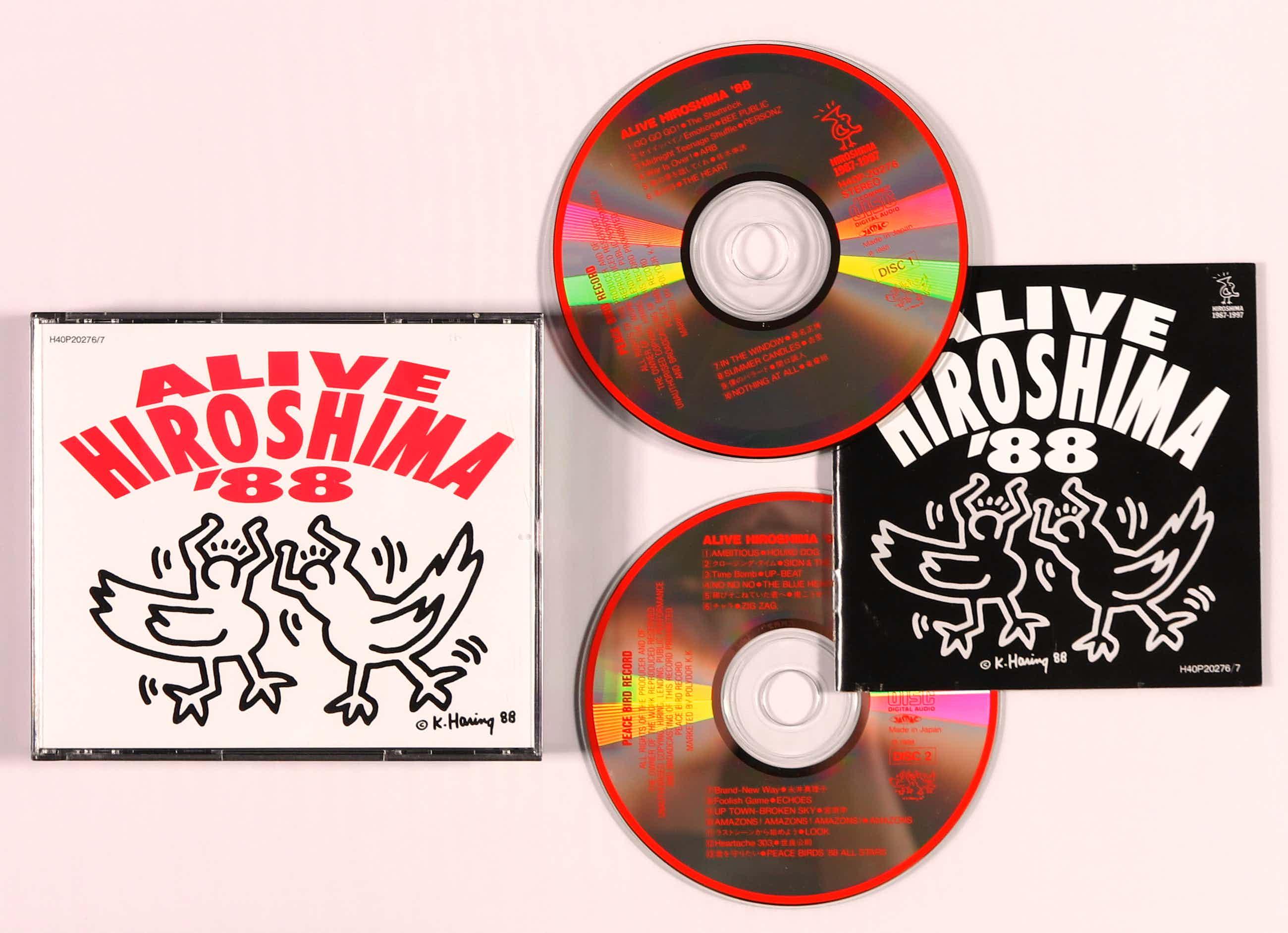 Keith Haring - 2CD - Various – Alive Hiroshima '88 kopen? Bied vanaf 80!