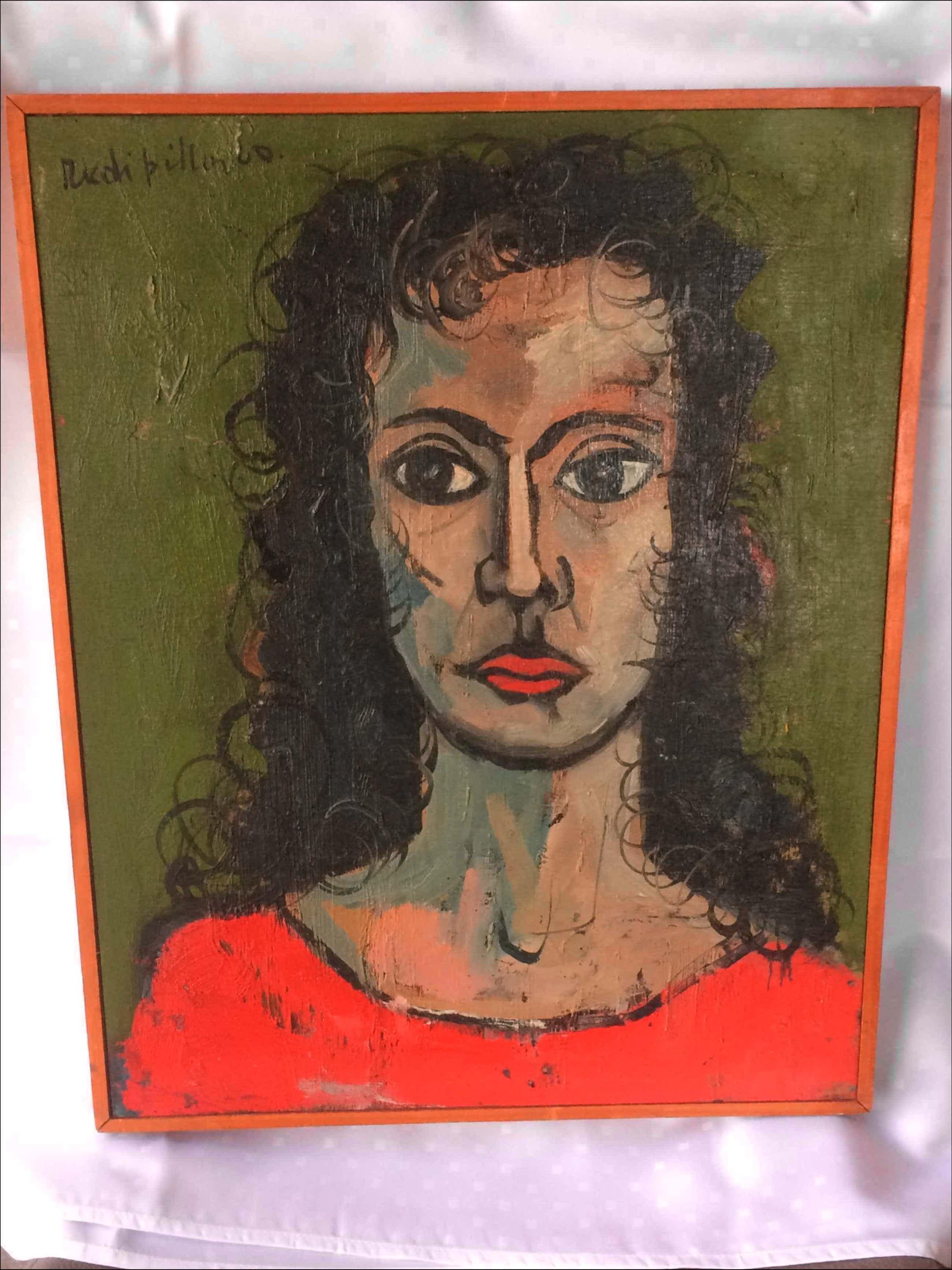 Rudi Pillen - Portret van een vrouw kopen? Bied vanaf 90!