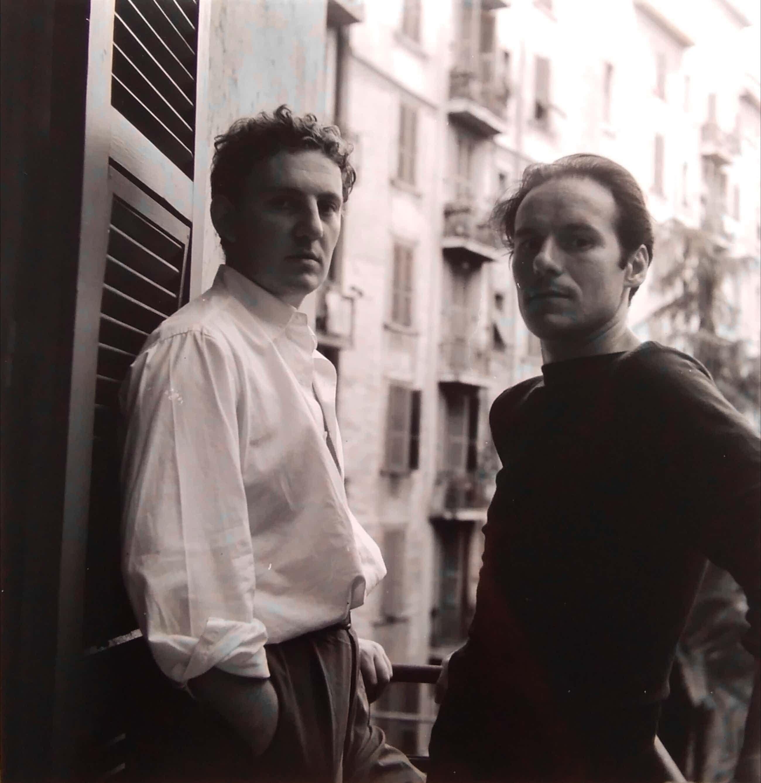 Hugo Claus - Henny Riemens Fotoportret met Corneille Rome 1954 kopen? Bied vanaf 60!