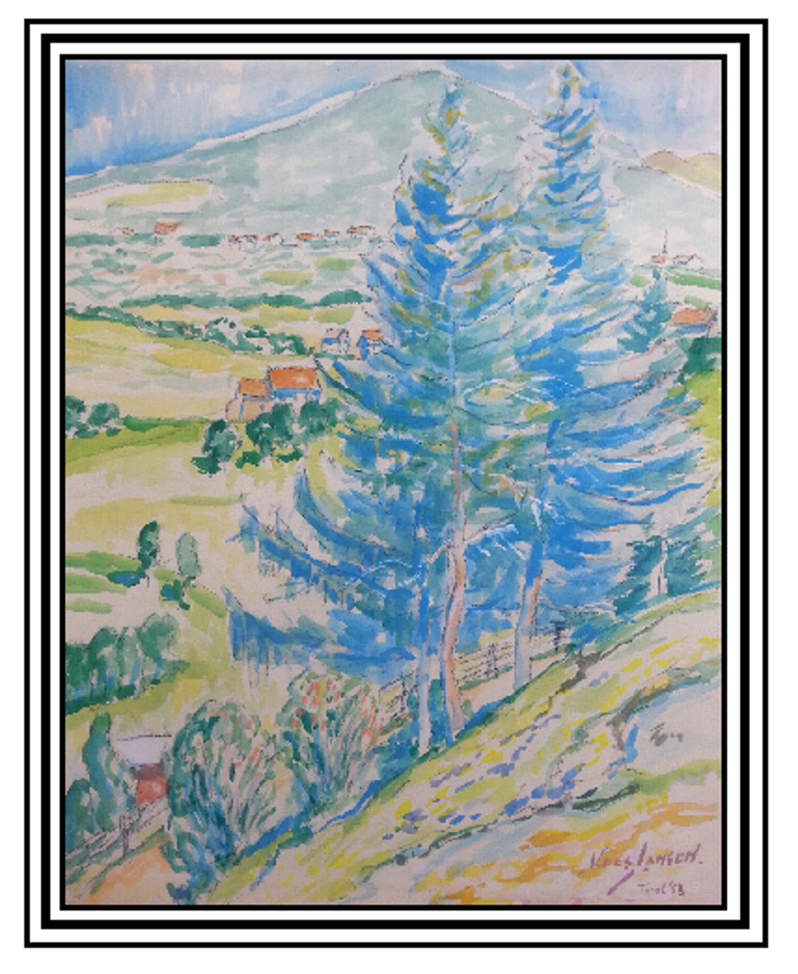 Kees Jansen - Landschap Tirol - 1953 kopen? Bied vanaf 15!