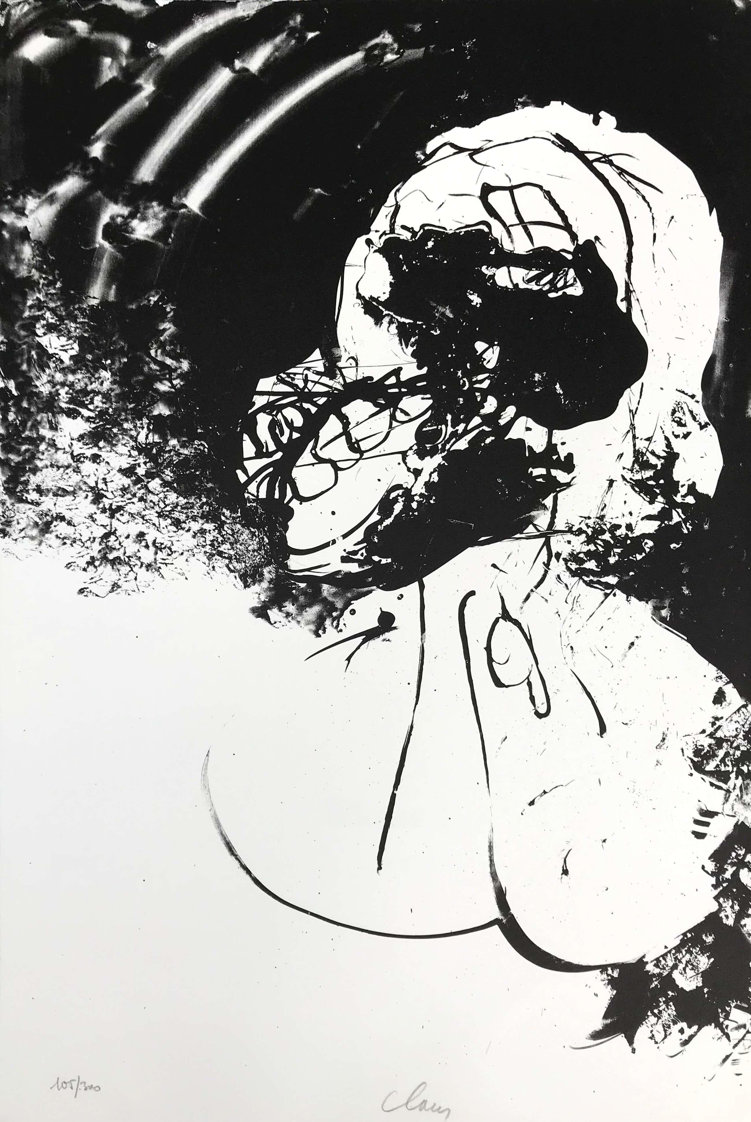Hugo Claus - Kleurenlitho - Winter 1 - 1979 - 105/300 + gesigneerde colofon kopen? Bied vanaf 85!