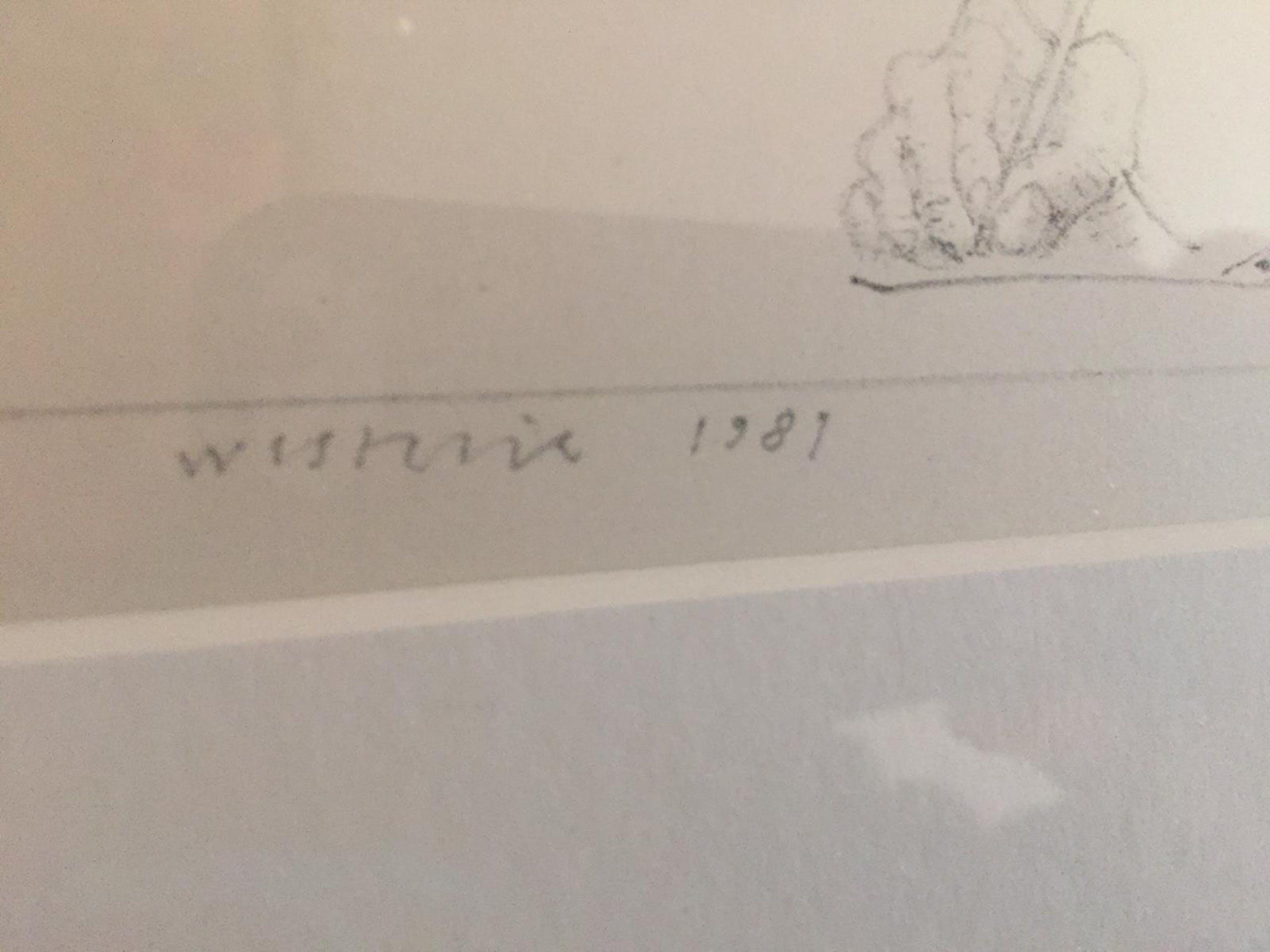 Co Westerik - Zelfportret met hand in glas kopen? Bied vanaf 275!