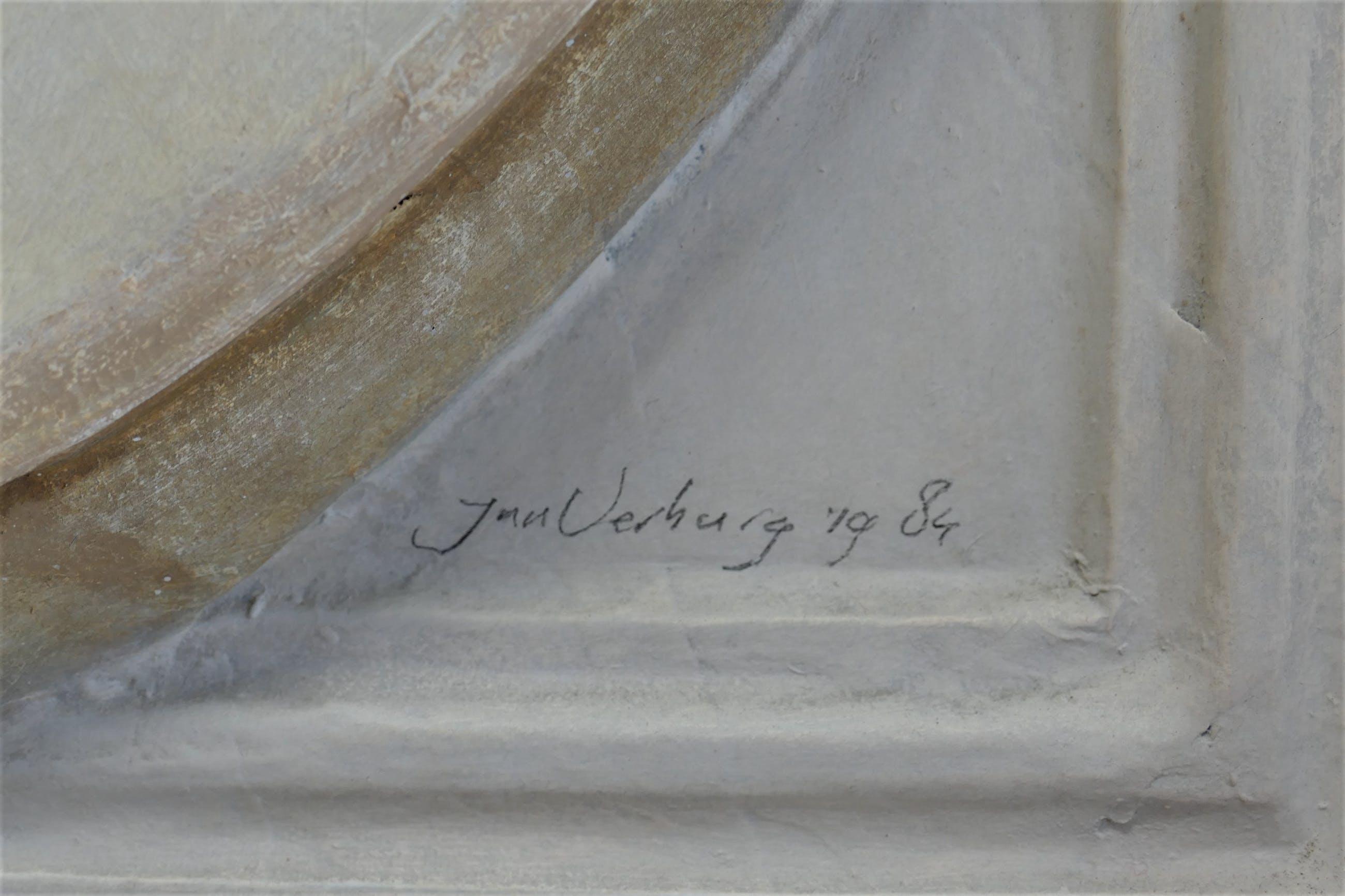 Jan Verburg - Stilleven met potten kopen? Bied vanaf 295!