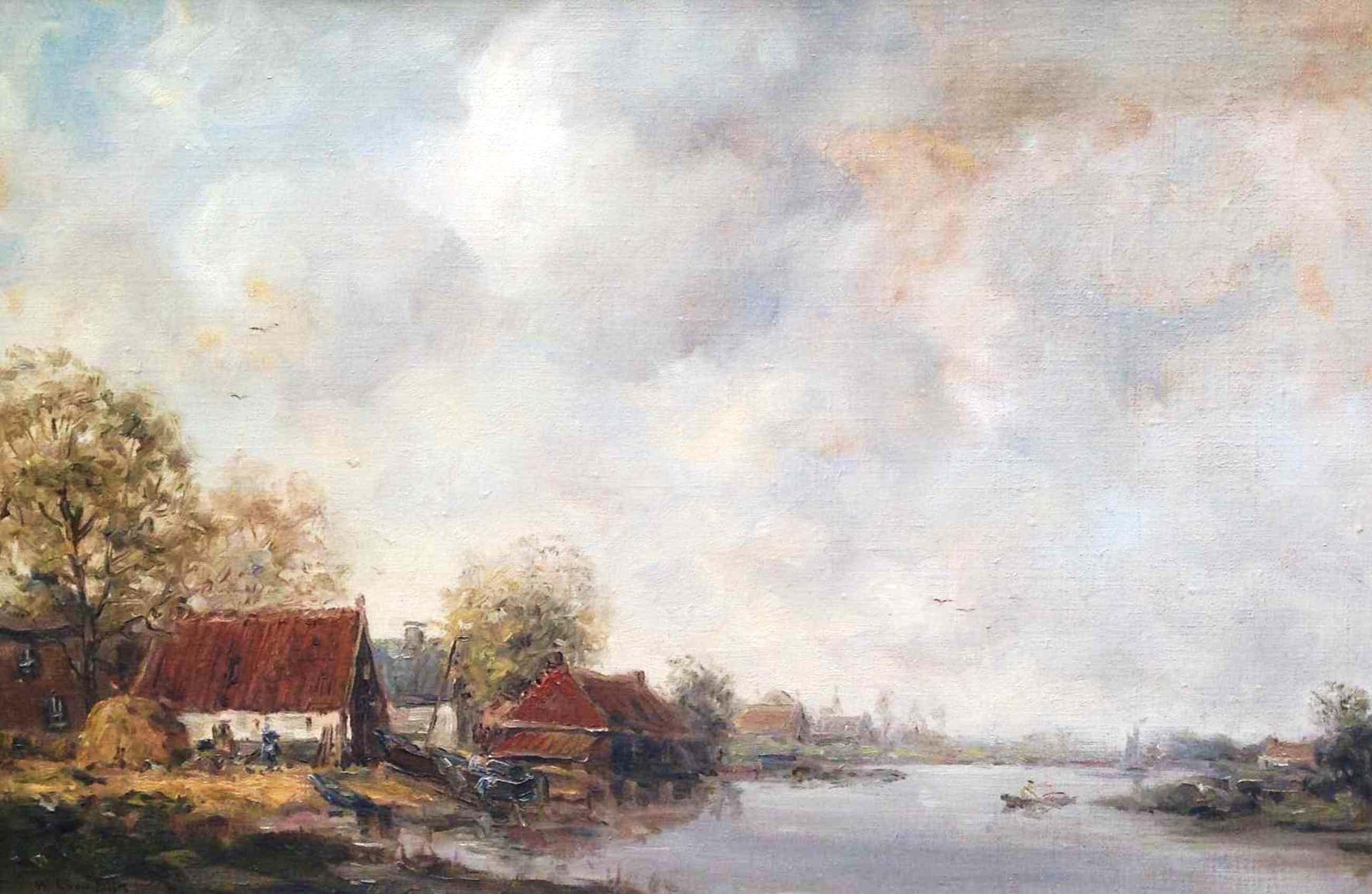 Willem Leendert van Dijk - B687 - Huisjes aan de vaart kopen? Bied vanaf 70!