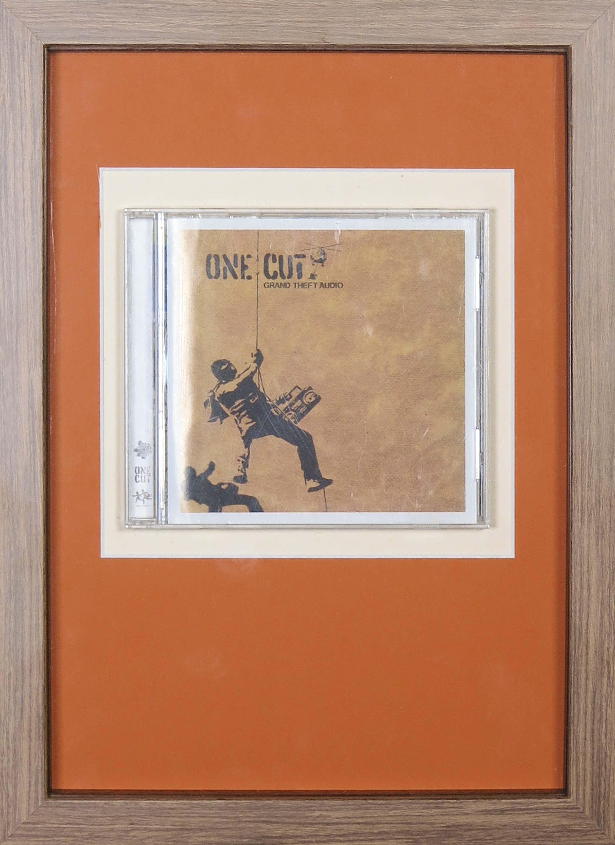 Banksy - One Cut: Grand Theft Audio (CD) - Ingelijst kopen? Bied vanaf 133!
