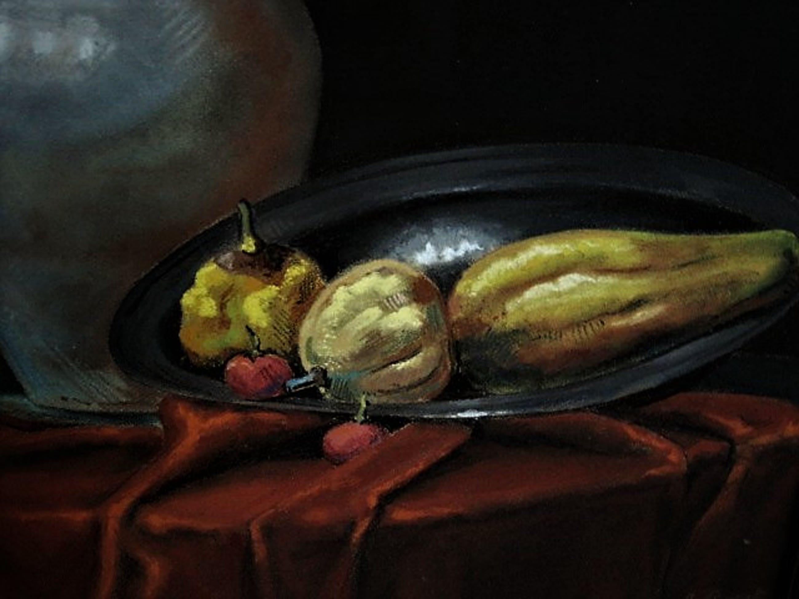Niet of onleesbaar gesigneerd - Fraai in 1930 realistisch geschilderd gevarieerd stilleven - gesigneerd kopen? Bied vanaf 1!