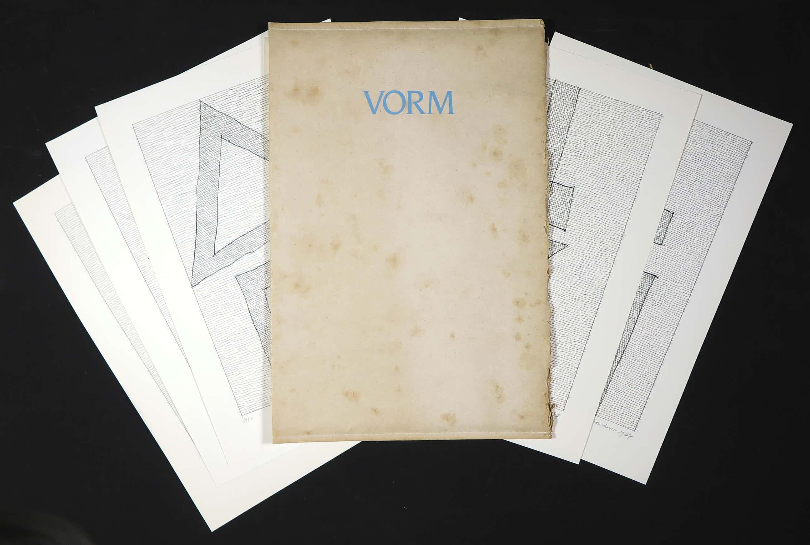 Jan Schoonhoven - Complete portfolio met 6 zeefdrukken, Vorm kopen? Bied vanaf 1348!