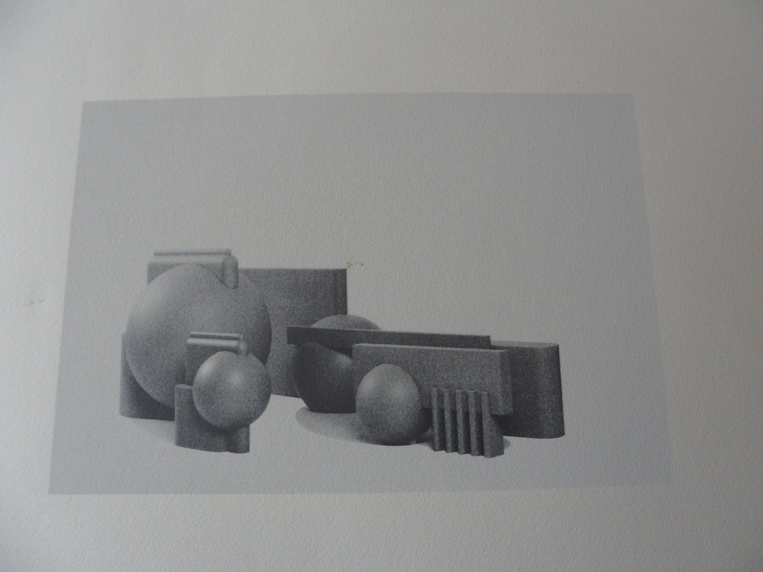 Alfred Eikelenboom - Zeefdruk, Utopian Model 1995. kopen? Bied vanaf 25!