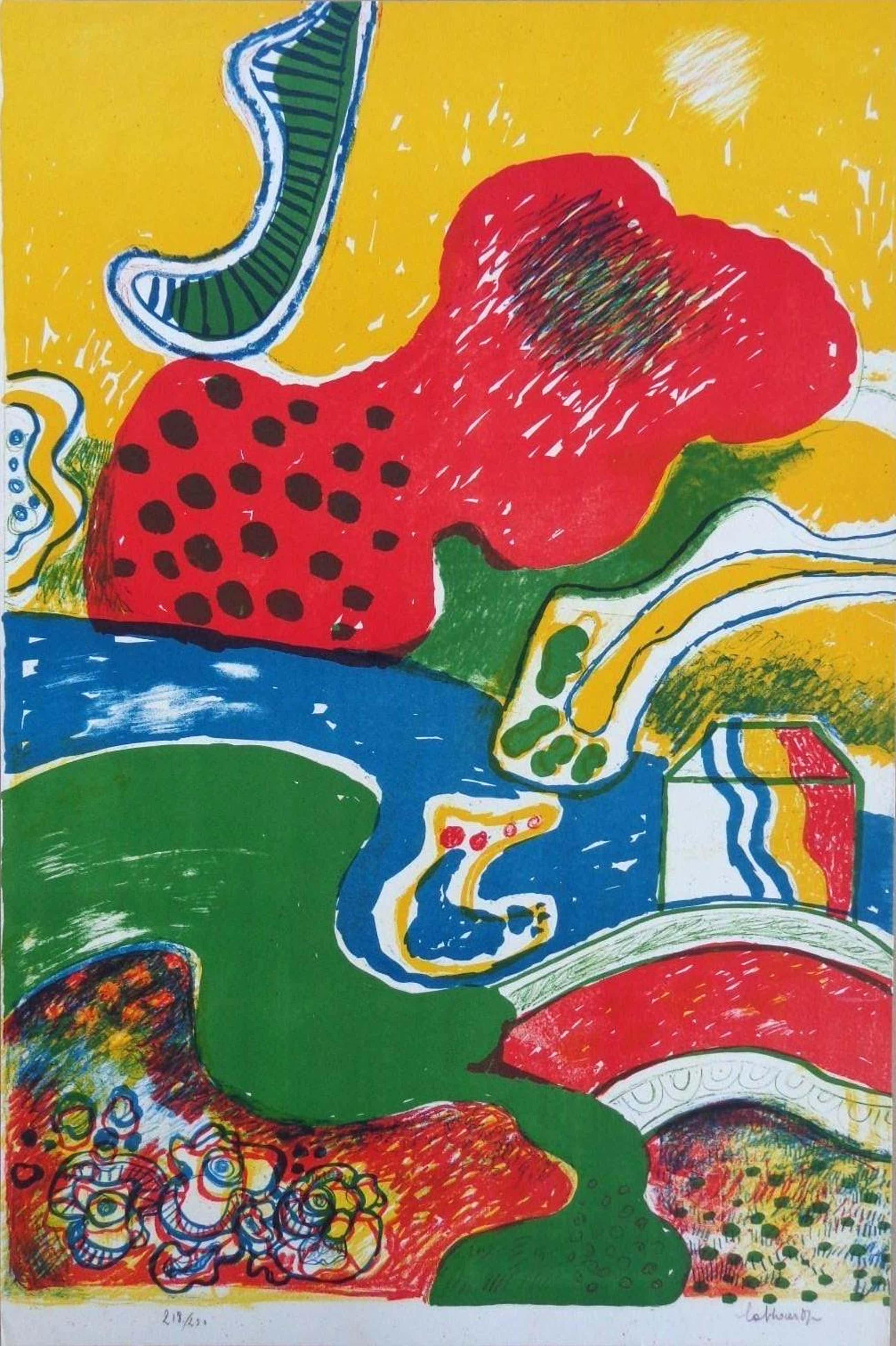 Jan Cobbaert - Abstracte compositie kopen? Bied vanaf 199!
