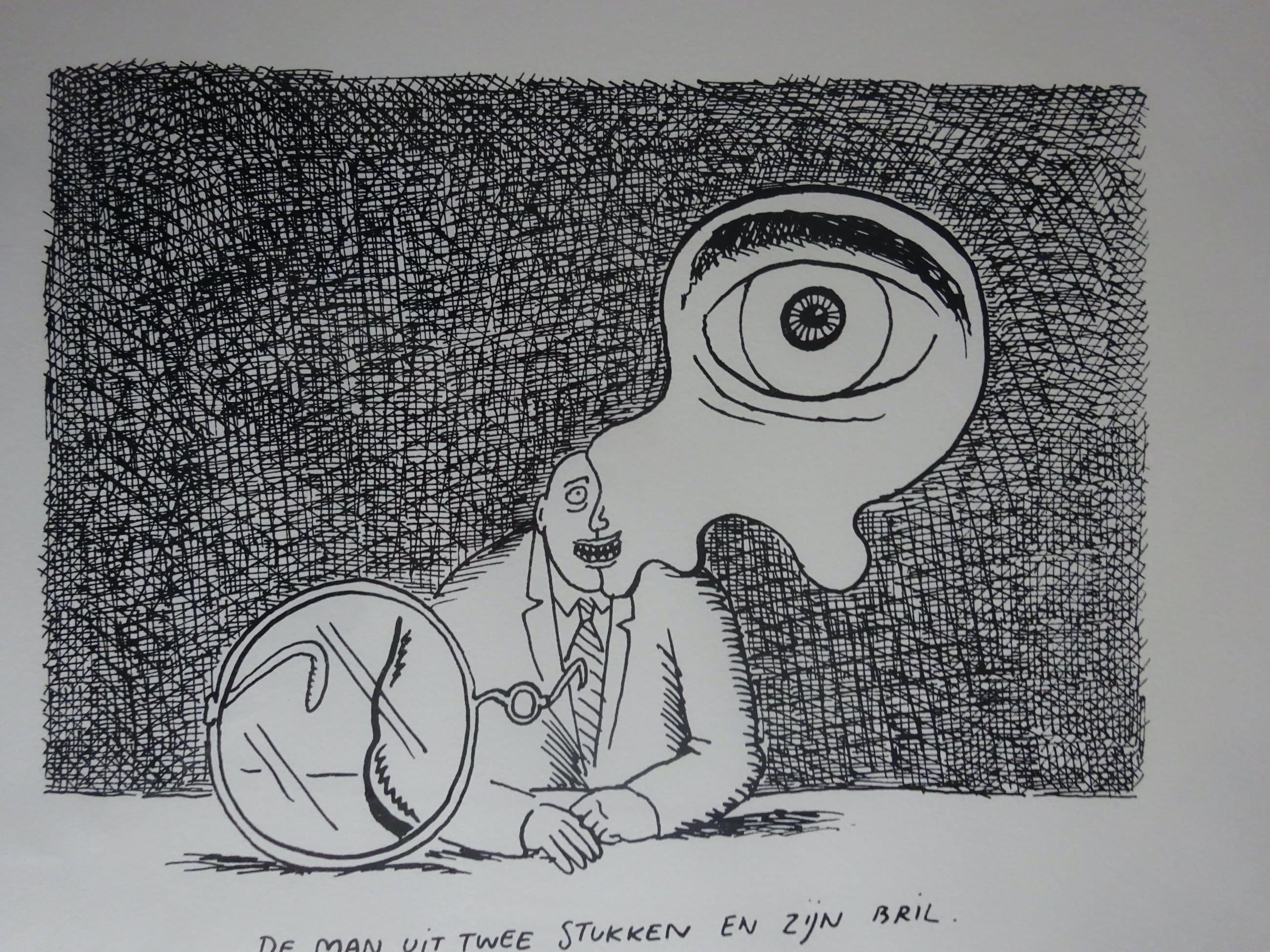 Kamagurka - De man uit twee stukken en zijn bril kopen? Bied vanaf 125!