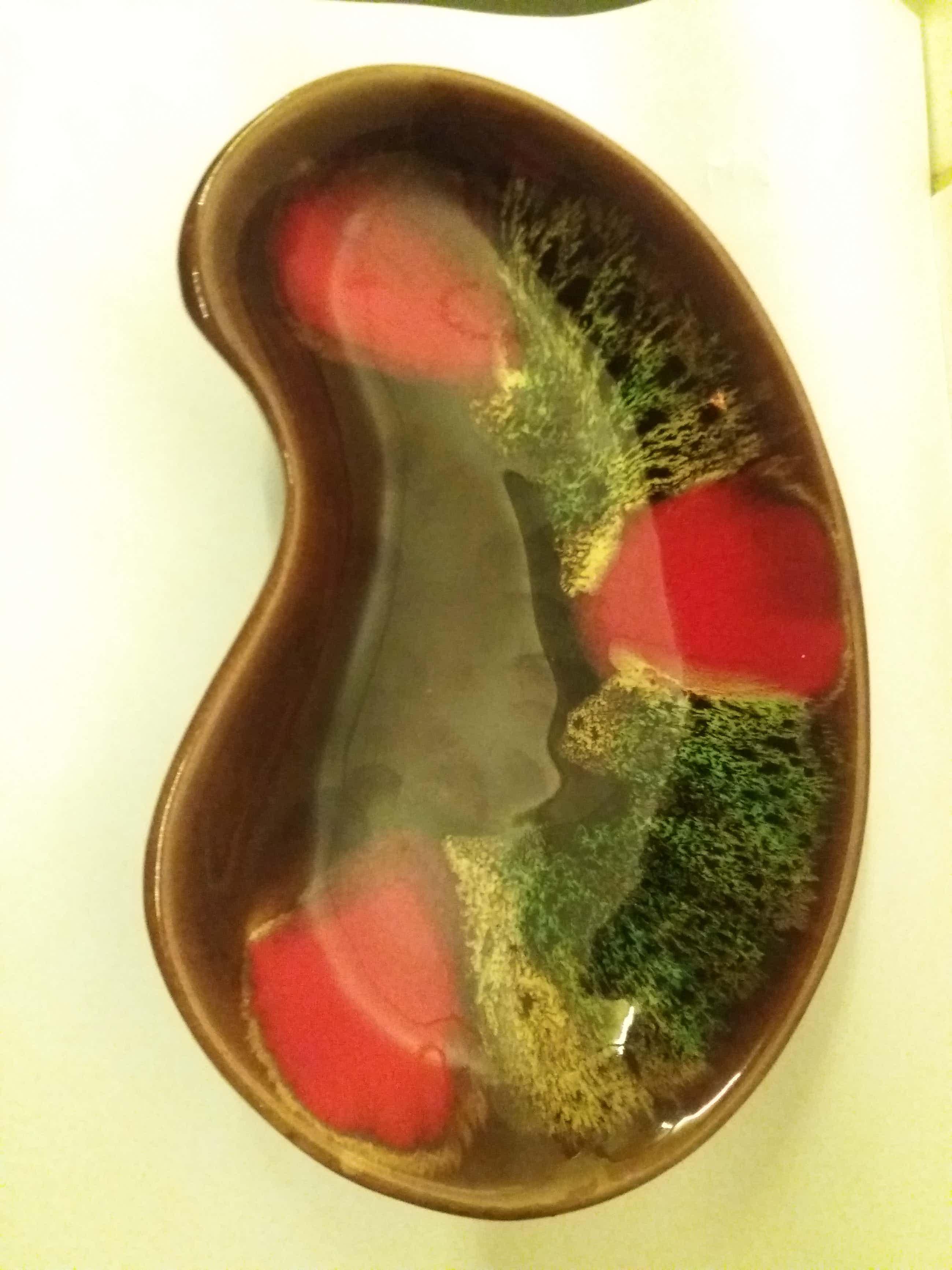 Vallauris Keramiek - nier vormige schotel, gemaakt in Frankrijk door Vallauris. kopen? Bied vanaf 30!