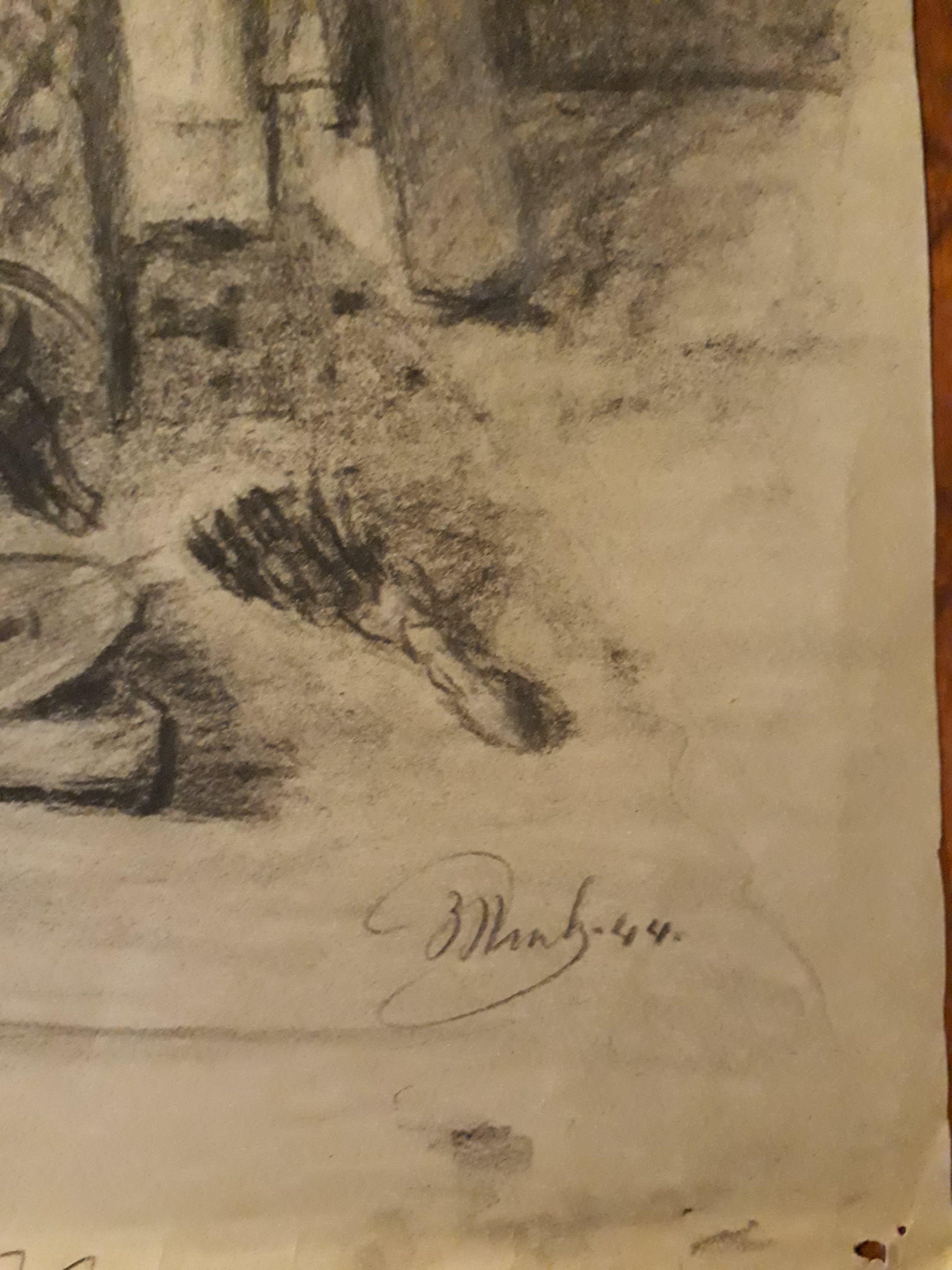 Jan Vink - 12 potlood tekeningen kopen? Bied vanaf 20!