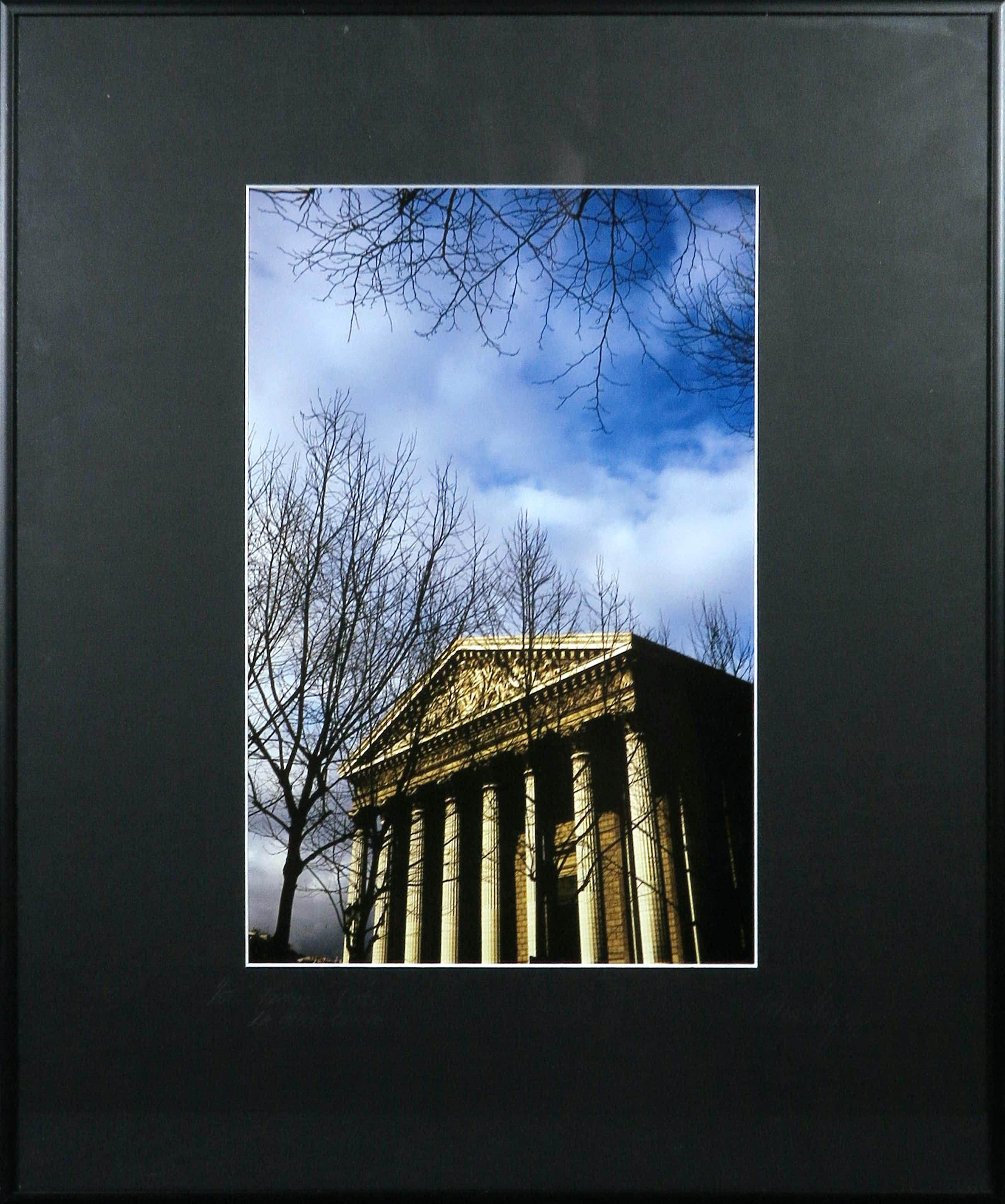 Paul Huf - Foto, France, Paris, La Madeleine - Ingelijst kopen? Bied vanaf 35!