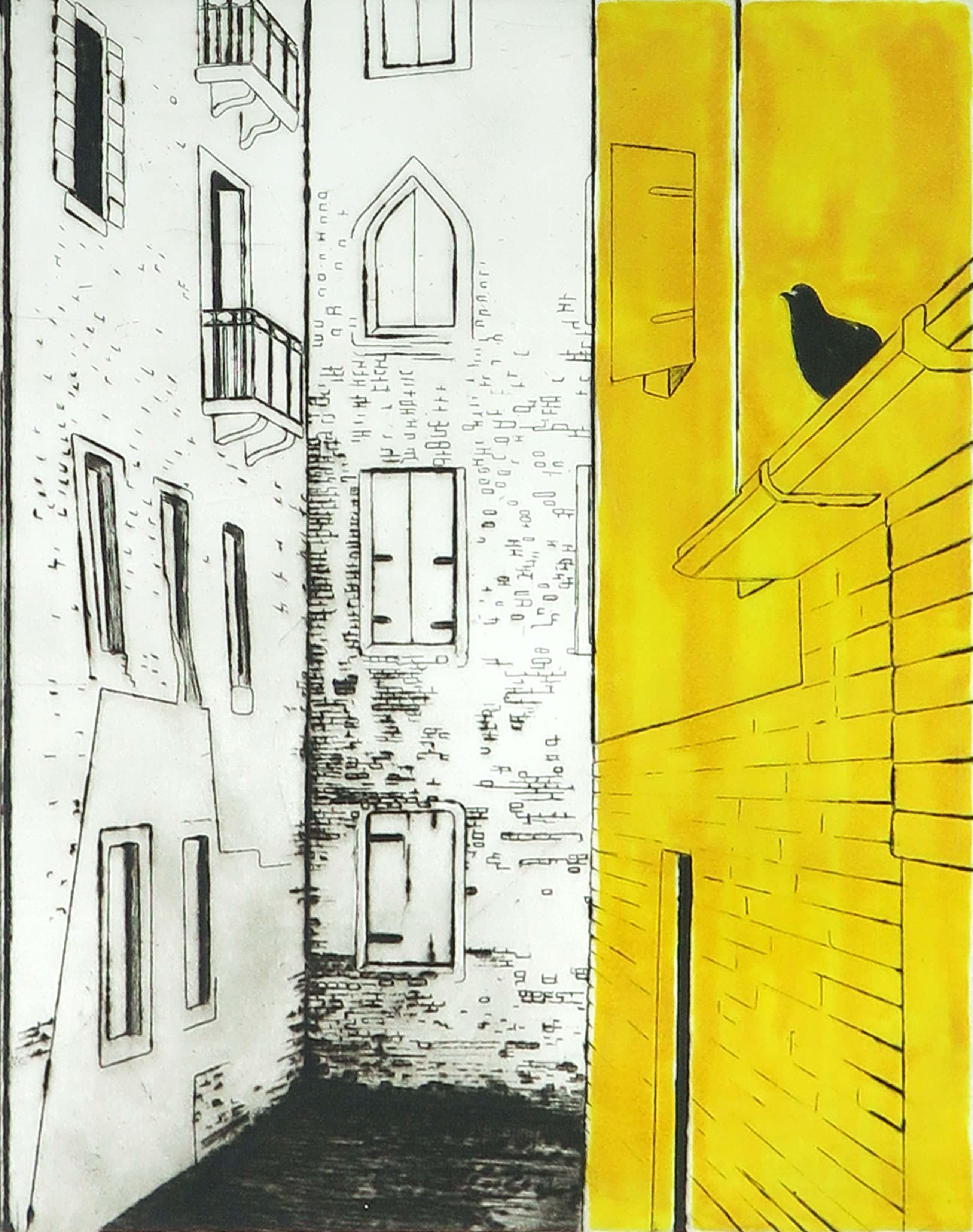 Margeritha Pianarosa - Ets, Venezia 9 - Ingelijst kopen? Bied vanaf 70!