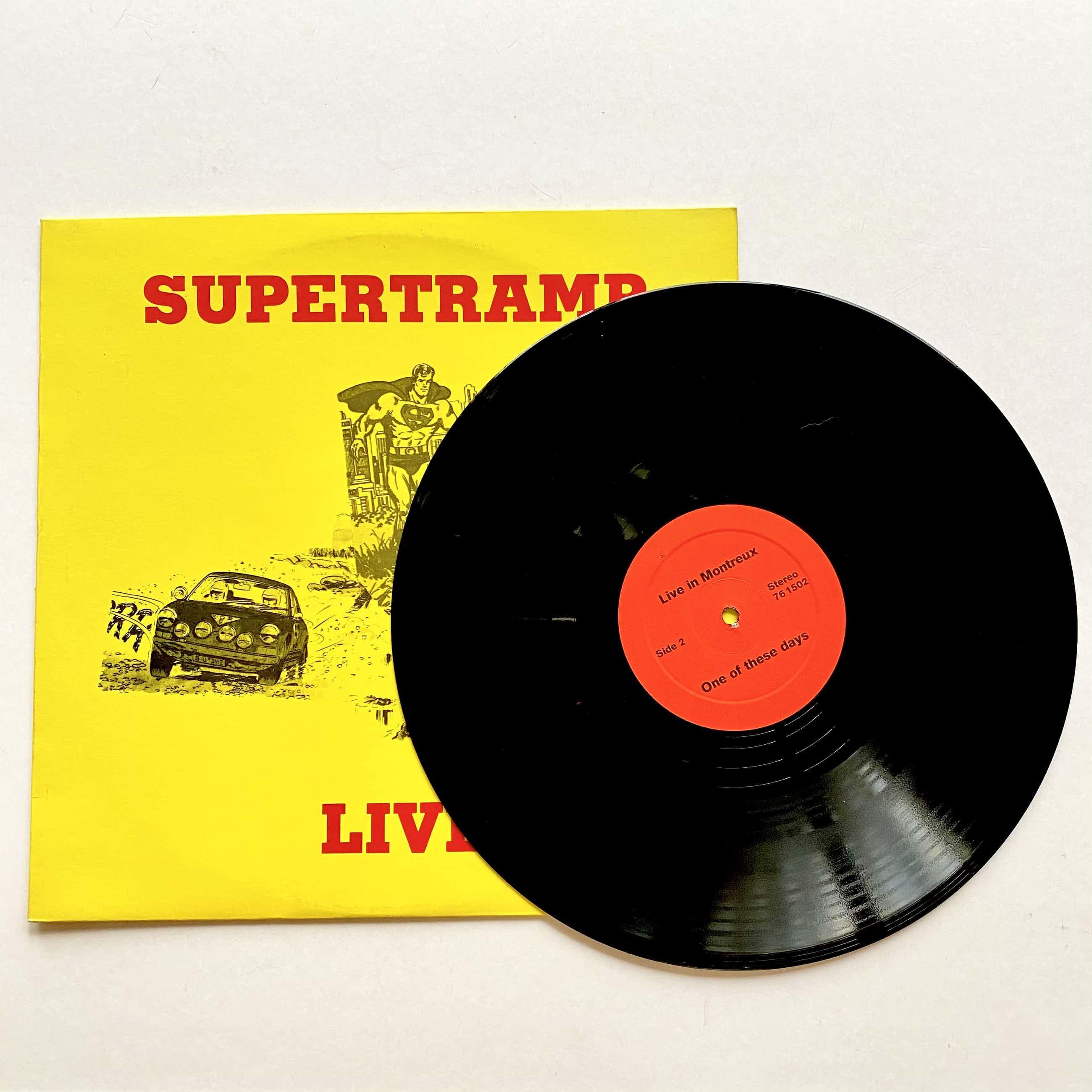 Supertramp - LIVE (Unofficial Release) kopen? Bied vanaf 50!