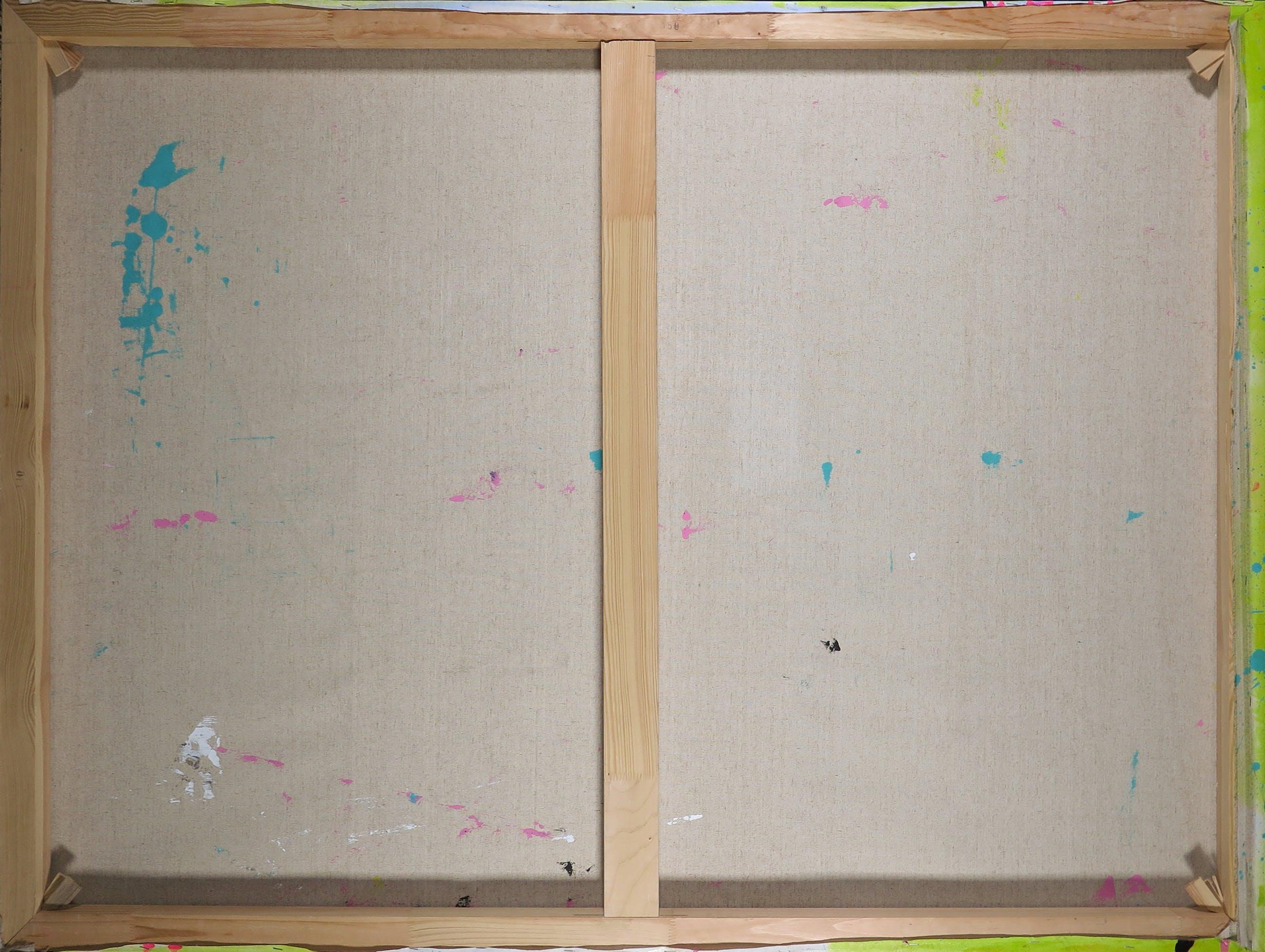 Ronald Chapeau - Gemengde techniek op doek, Knock on Wood (Groot) kopen? Bied vanaf 1!