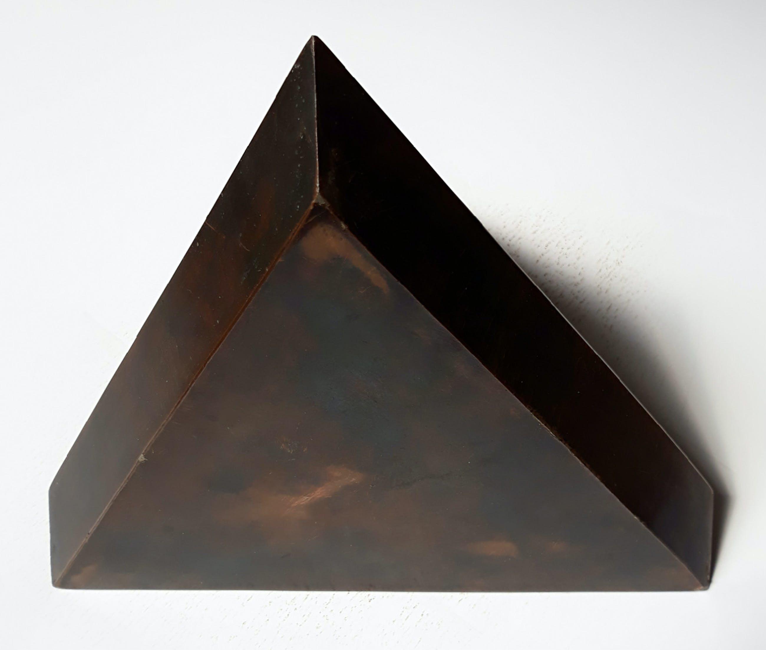 Nato Frascà - Pyramide-achtig object, brons kopen? Bied vanaf 300!