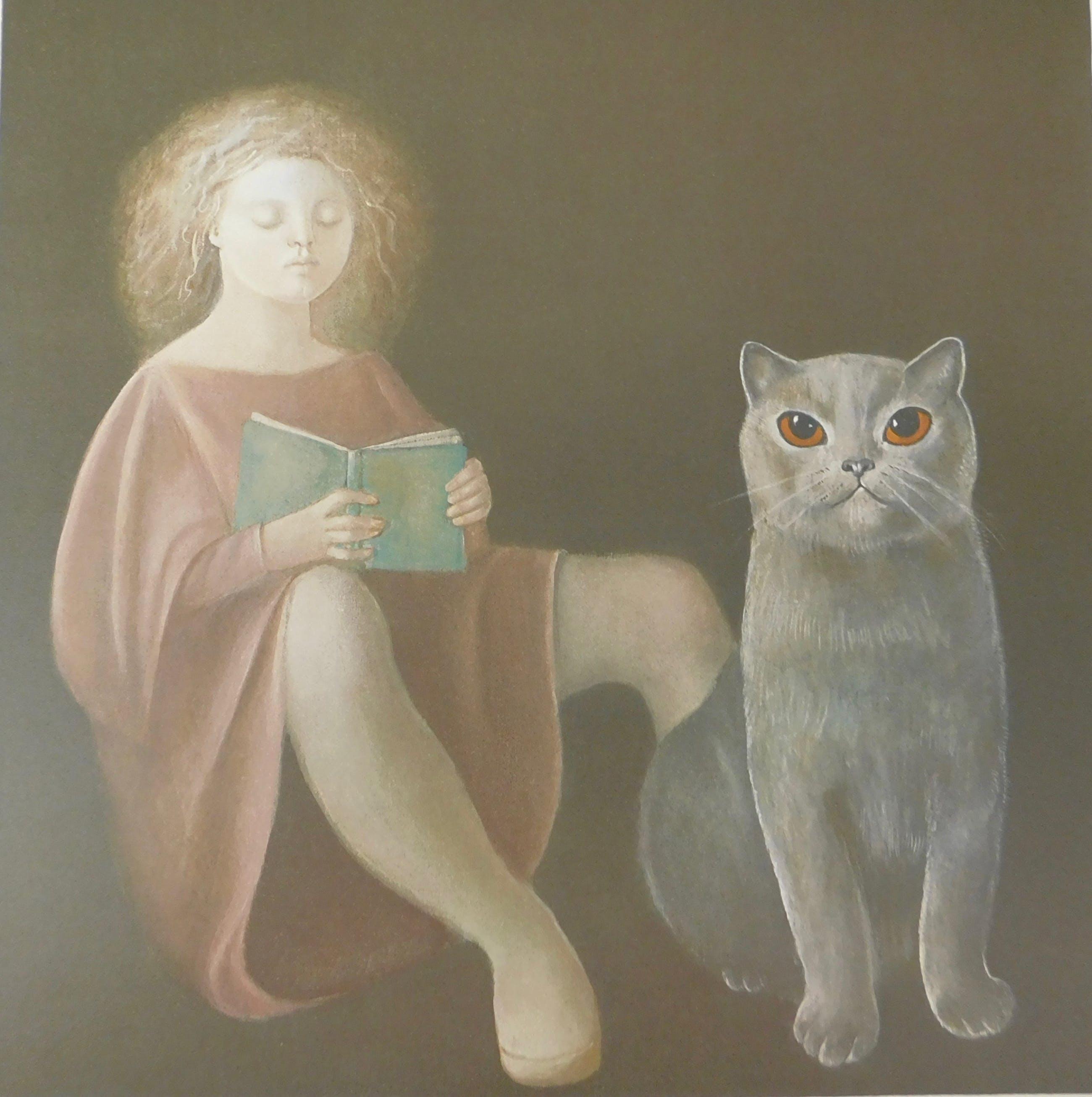 Leonor Fini - La Fille et le Chat kopen? Bied vanaf 40!