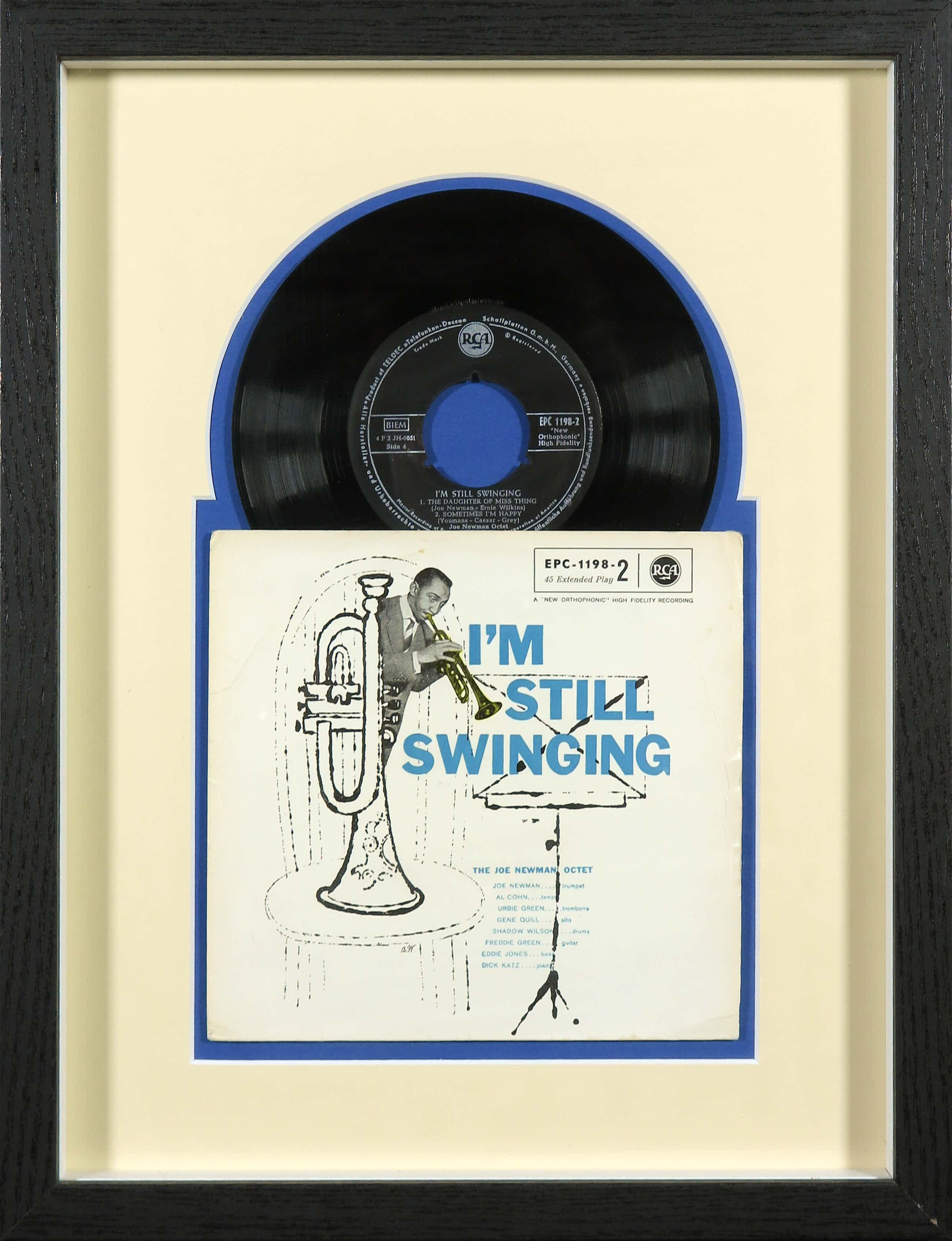 Andy Warhol - I'm Still Swinging - The Joe Newman Octet - Ingelijst kopen? Bied vanaf 40!