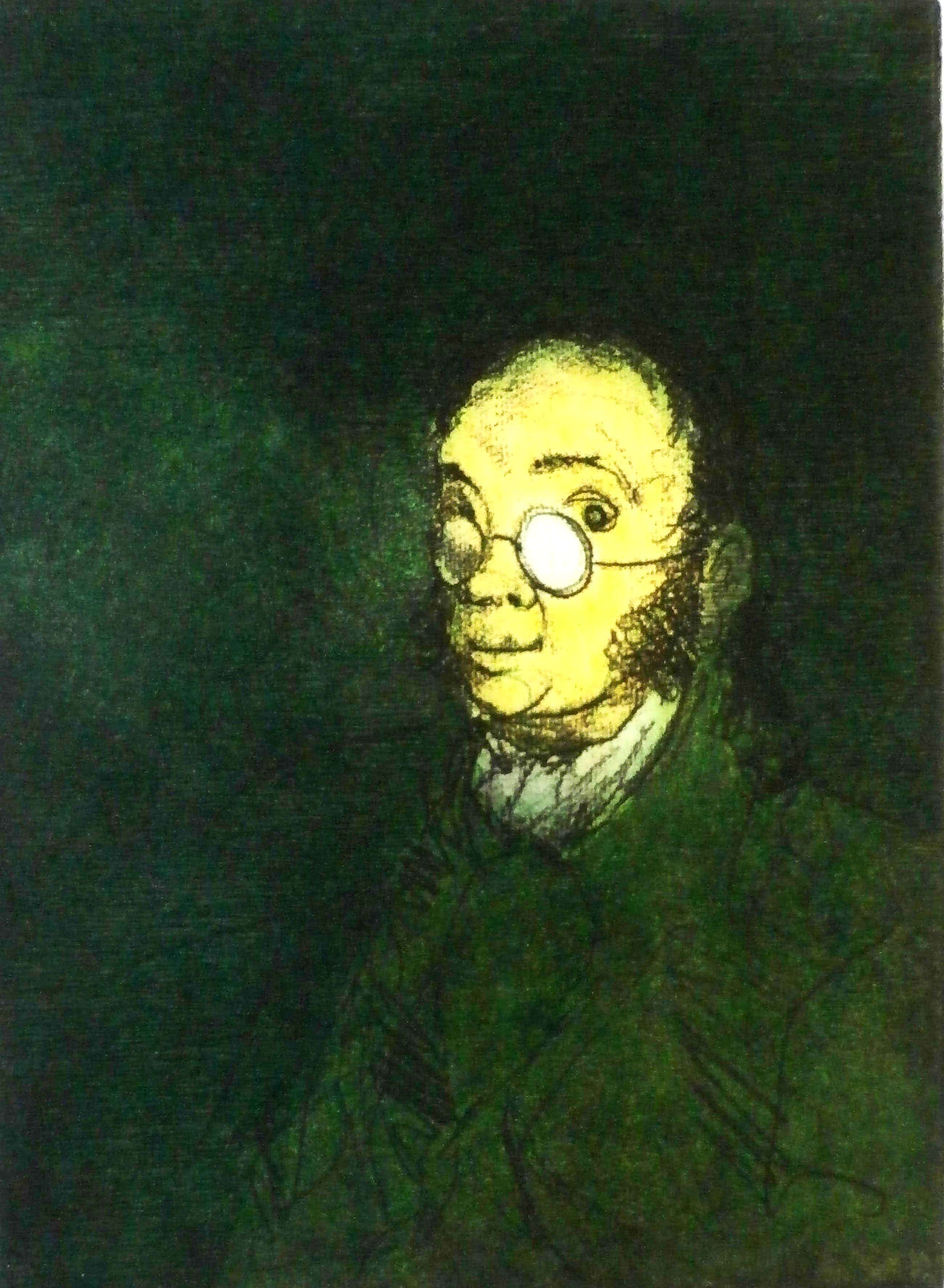 Ronald Tolman - ets: Goya - 1991 kopen? Bied vanaf 99!