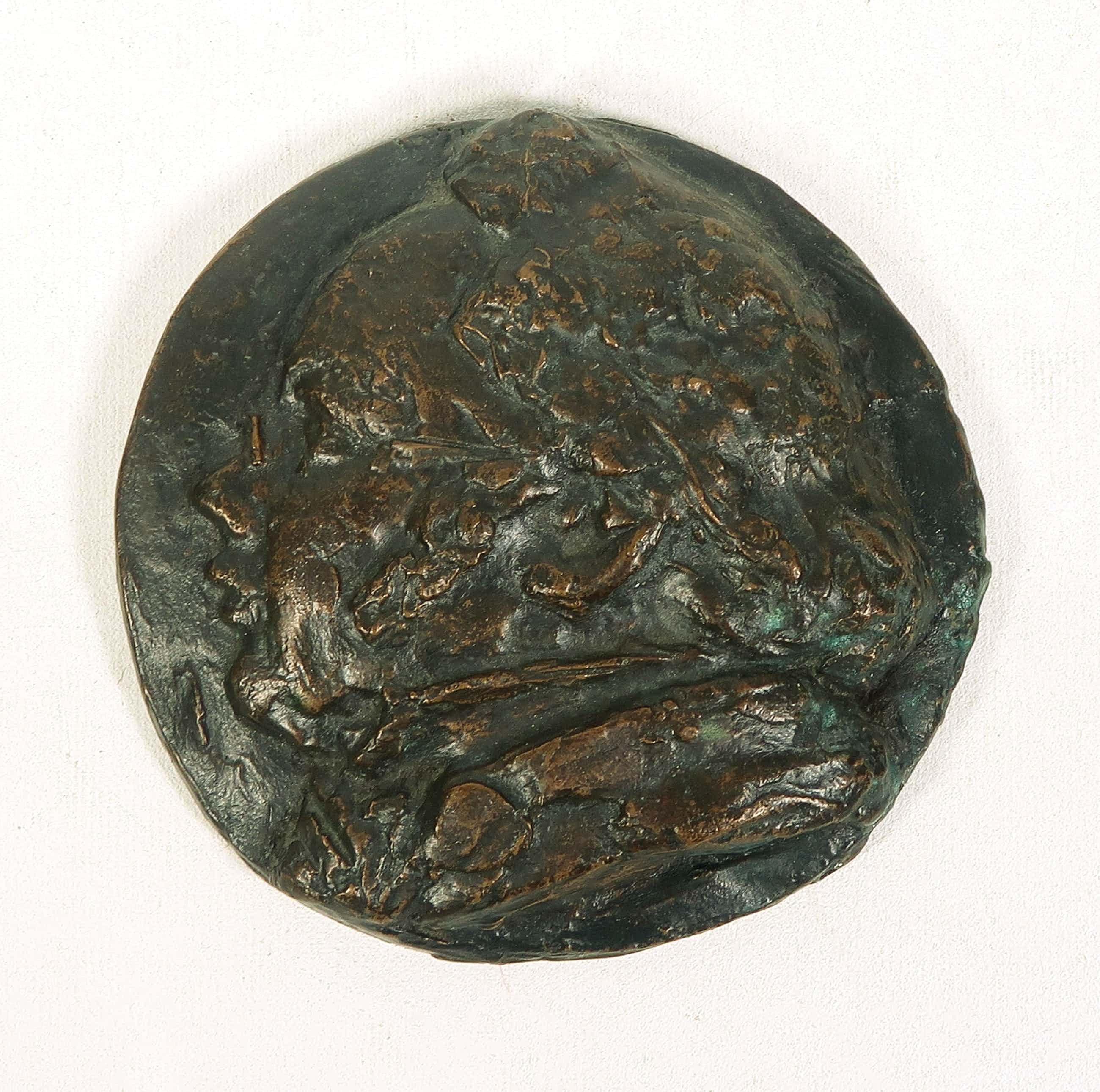 Mari Andriessen - Bronzen plaquette, Schubert (Groot) kopen? Bied vanaf 100!