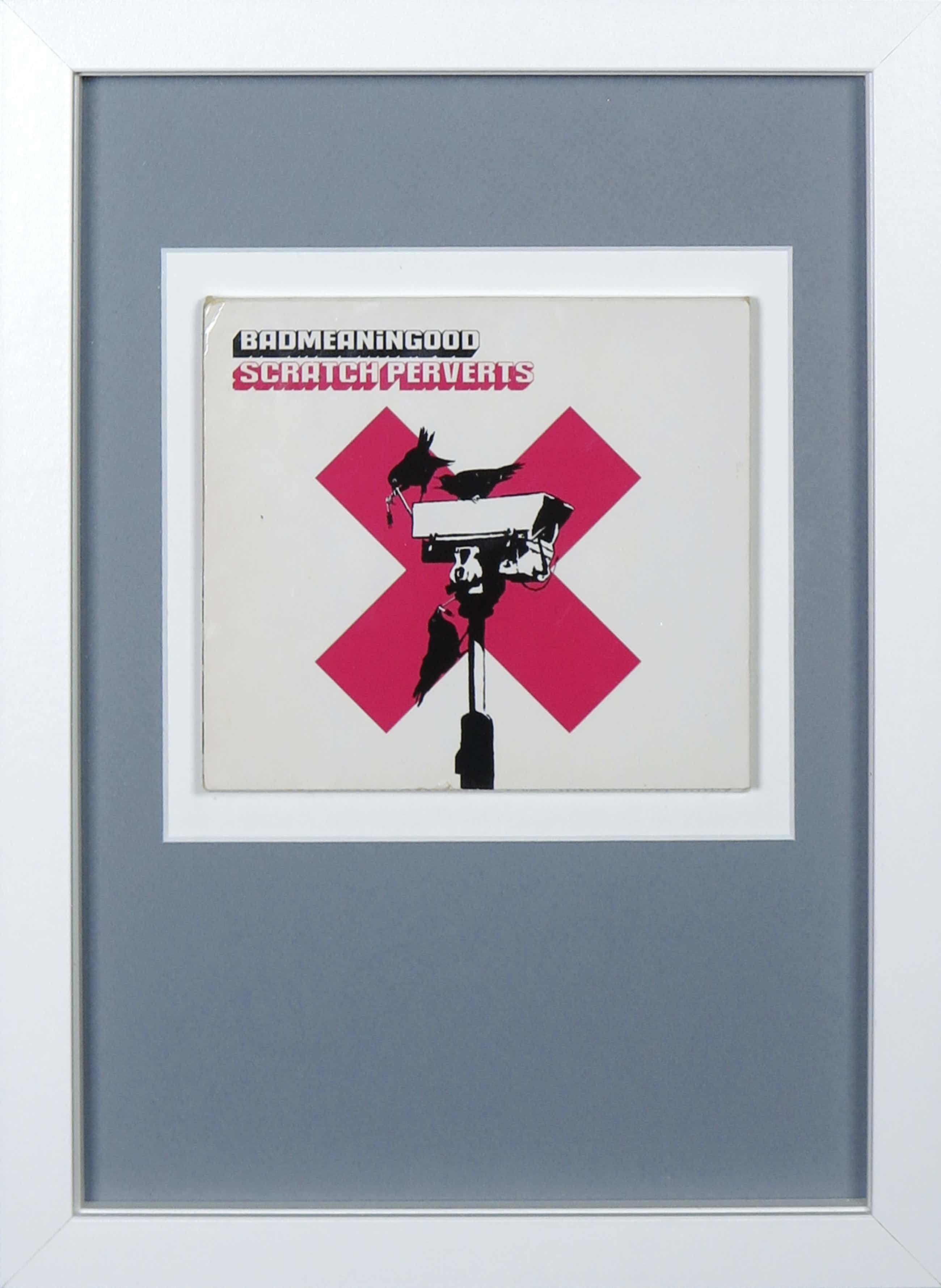 Banksy - Badmeaninggood vol. 4 door Scratch Perverts (CD) - Ingelijst kopen? Bied vanaf 100!