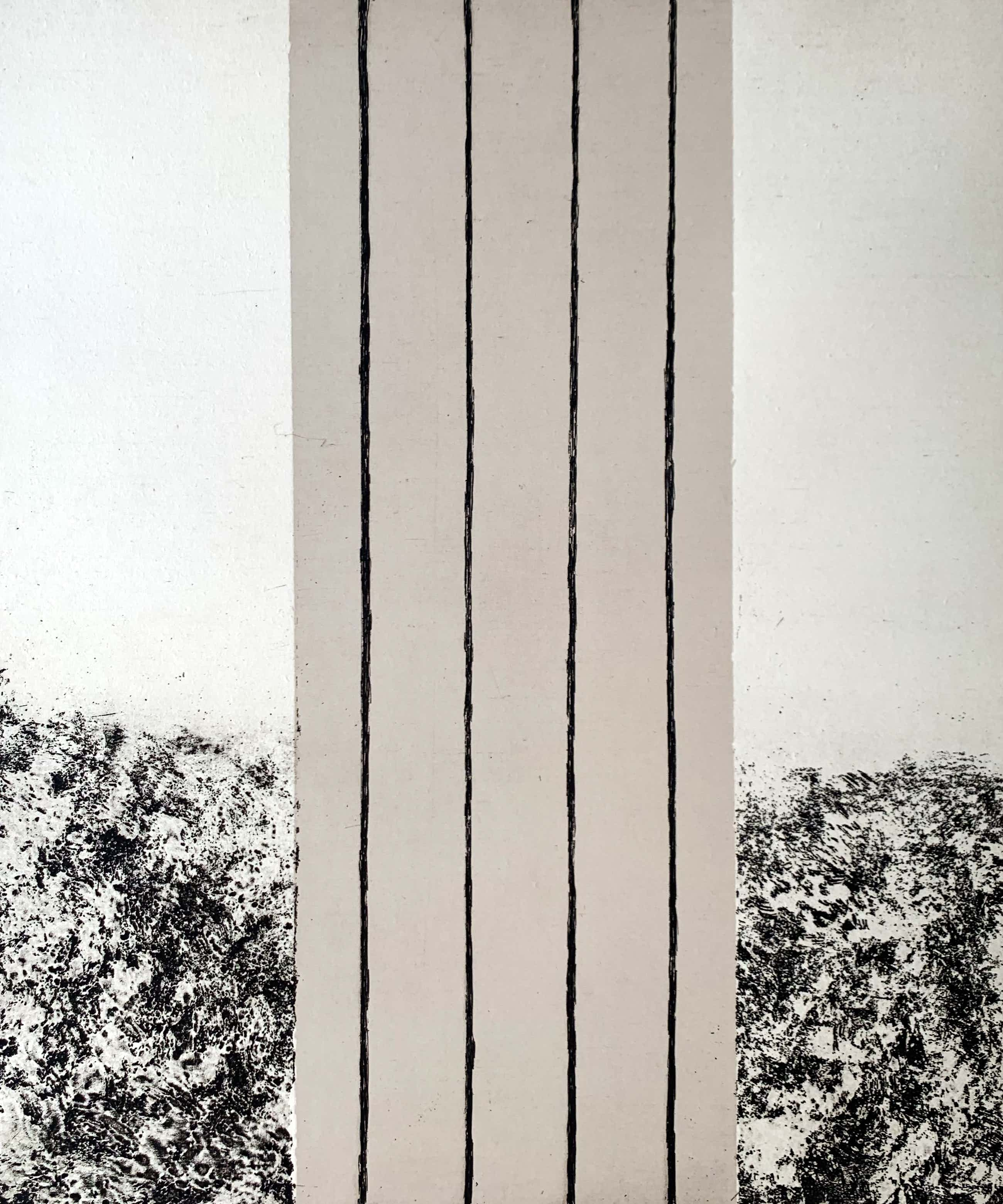 Sigurdur Gudmundsson - ets - 'Landschaft' - 1989 kopen? Bied vanaf 125!