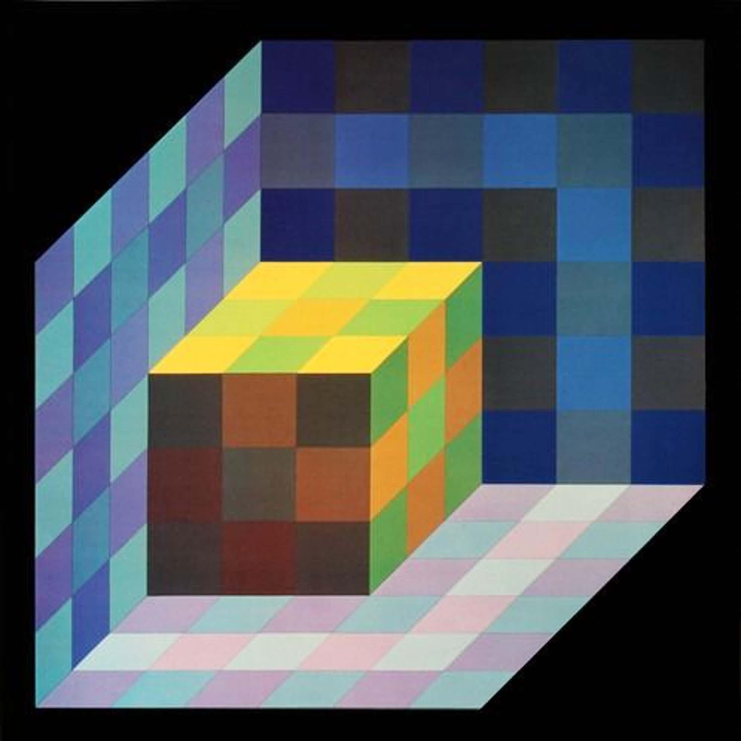 Victor Vasarely - TRIDIM-C kopen? Bied vanaf 55!
