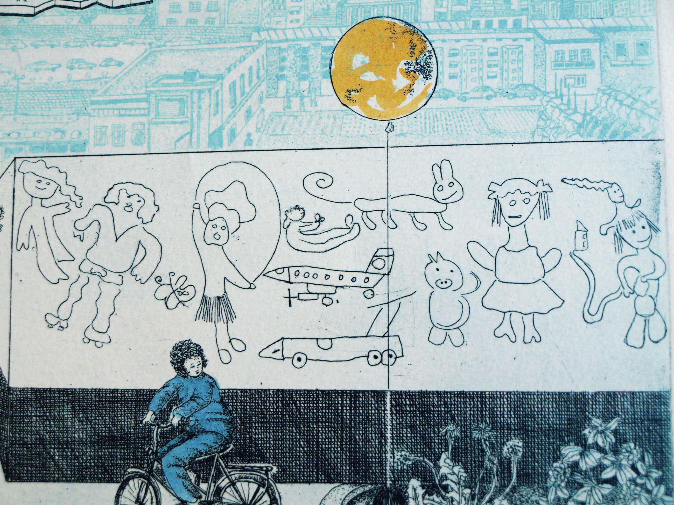 Carla Kleekamp - Ets , De wereld van het kind - 1979 kopen? Bied vanaf 45!