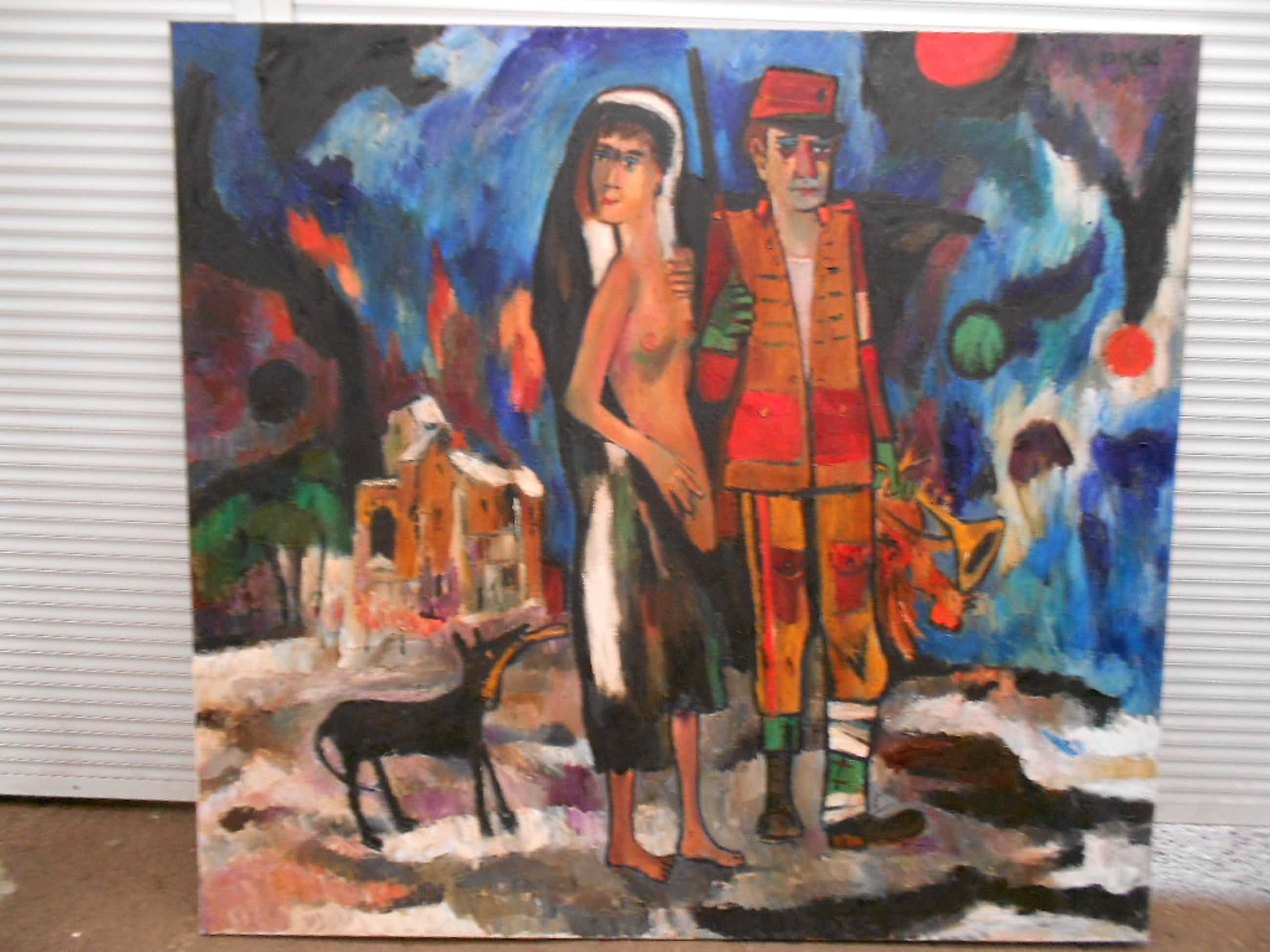 Theo van der Horst - Olieverfschilderij op linnen op houten spieraam kopen? Bied vanaf 400!