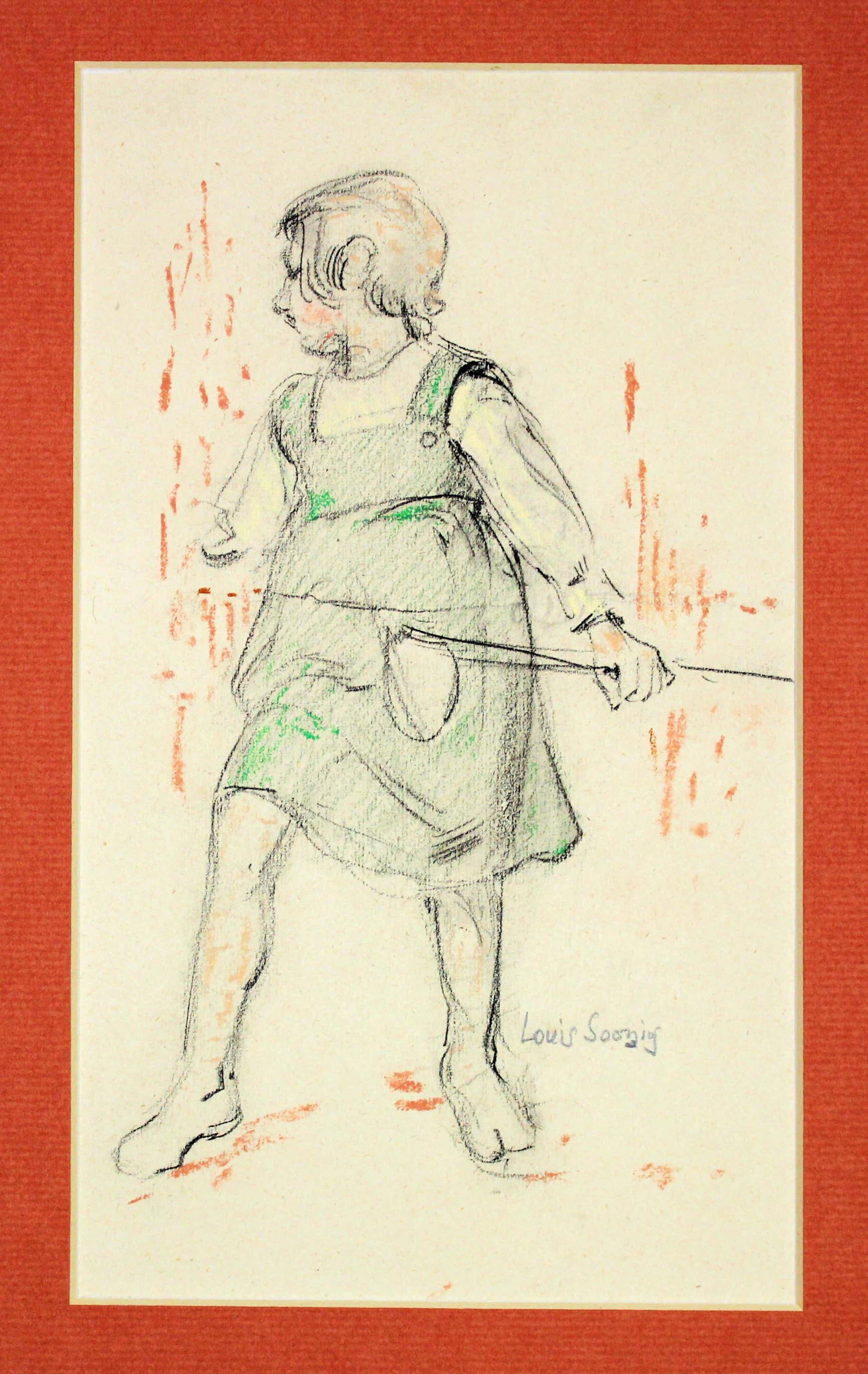 Louis Soonius - Meisje met visnetje kopen? Bied vanaf 180!