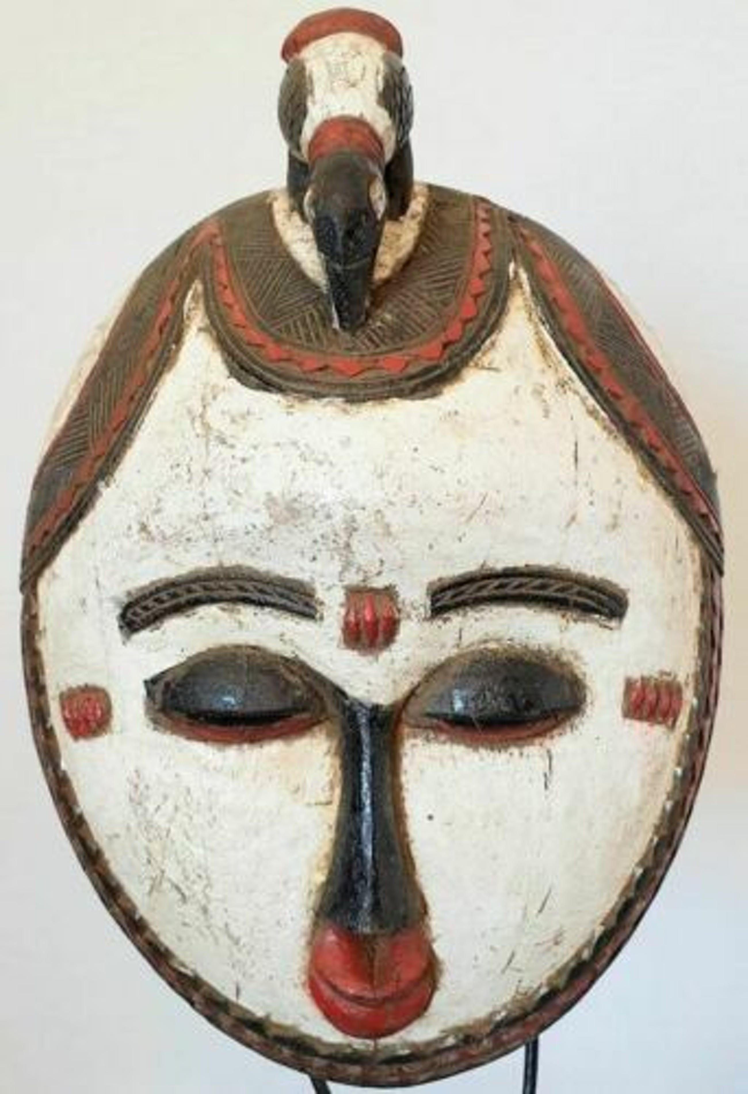 Luba - 191002 - Tribal used African mask from the Luba - Congo. kopen? Bied vanaf 65!