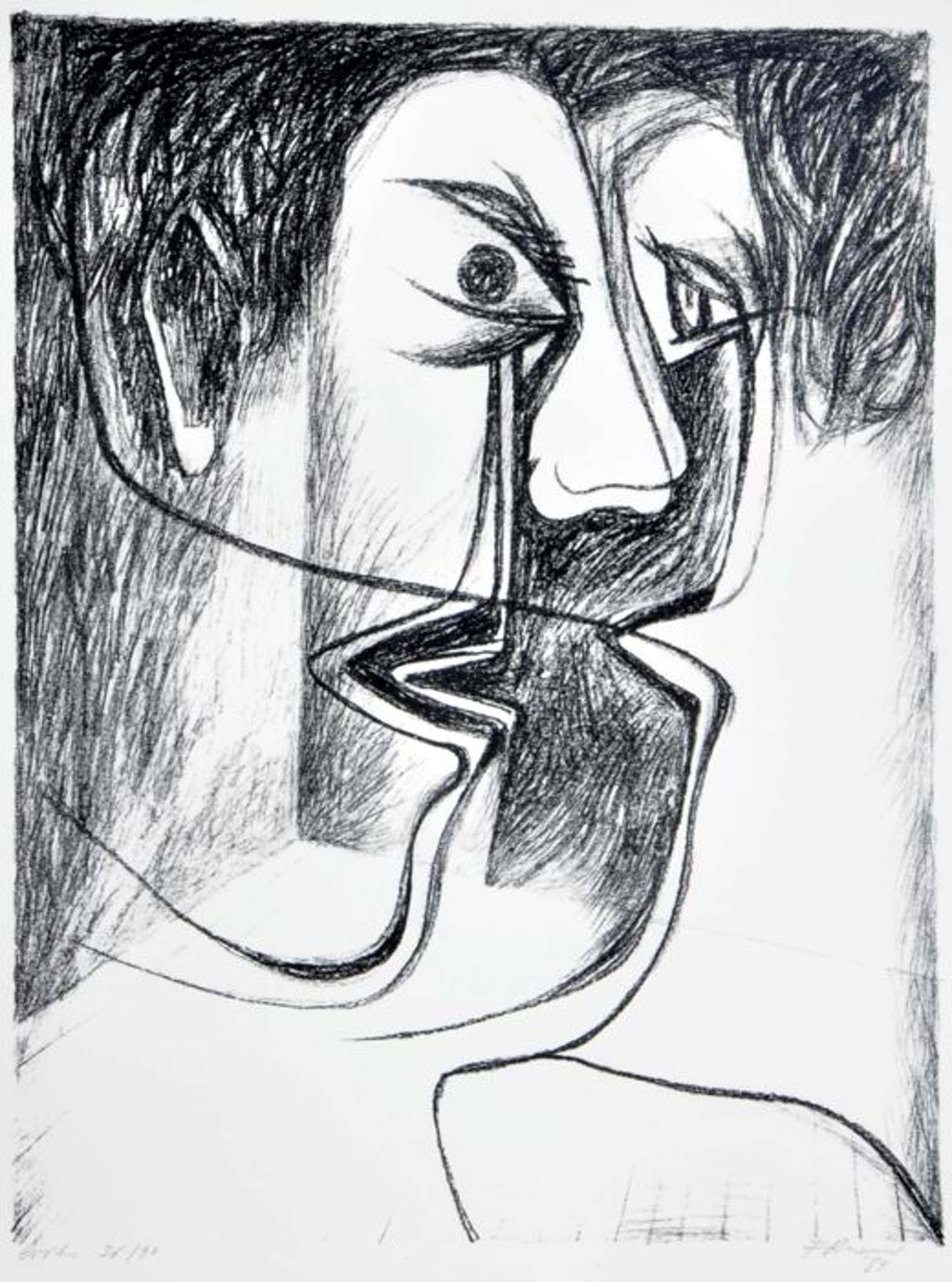 Cyr Frimout - Gesigneerde lithografie - 36/90 - 1989 kopen? Bied vanaf 35!