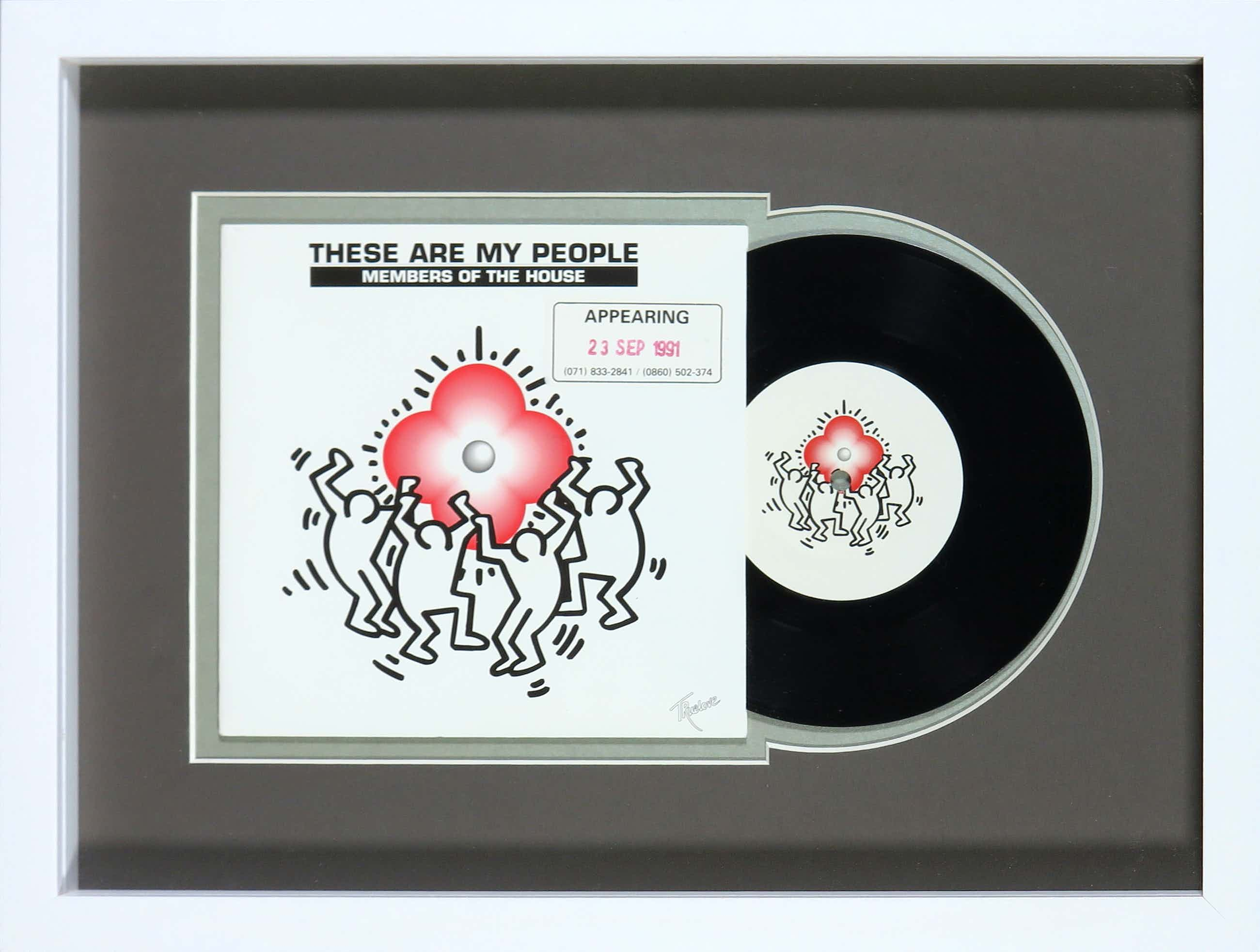 Keith Haring - Members of the House - These are my people kopen? Bied vanaf 70!