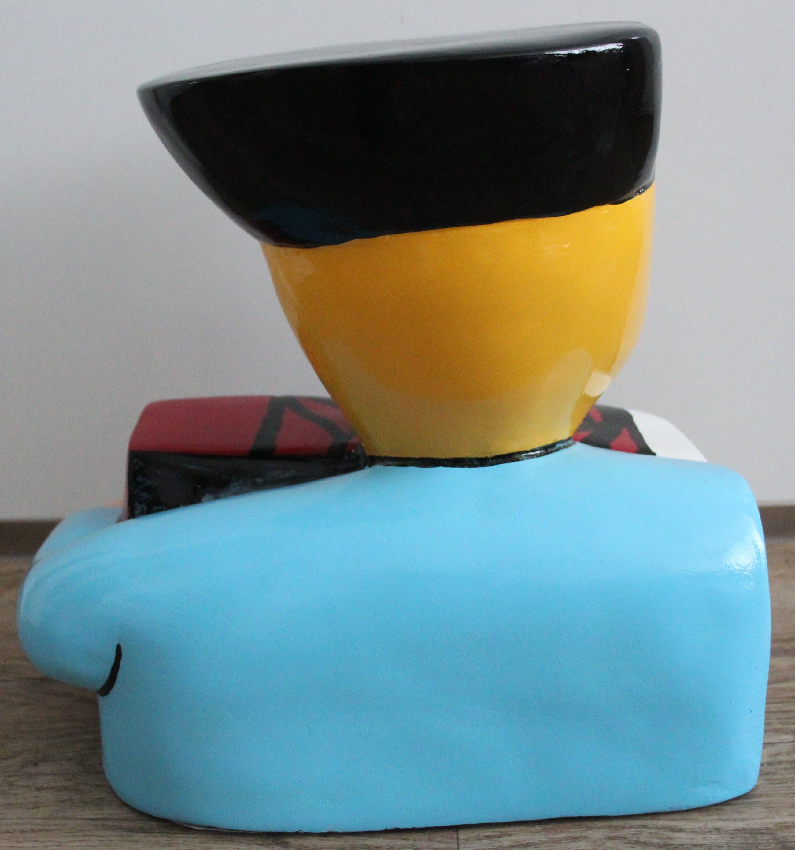 Herman Brood - Handbeschilderd 3D beeld: Accordionist (31 cm, met handgesigneerd certificaat) kopen? Bied vanaf 299!