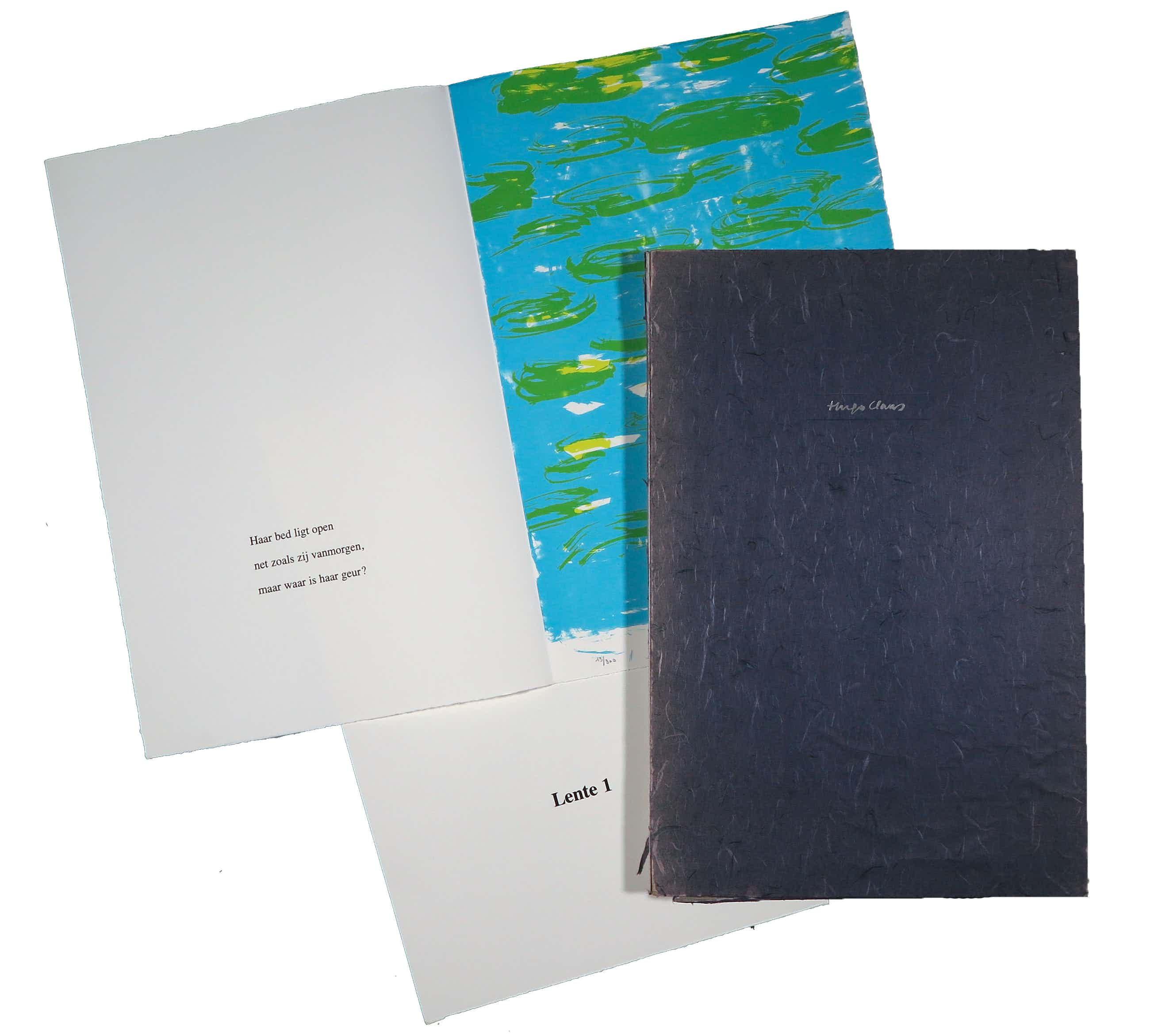 Hugo Claus - Portfolio met acht haiku's en litho's, Fuga kopen? Bied vanaf 240!