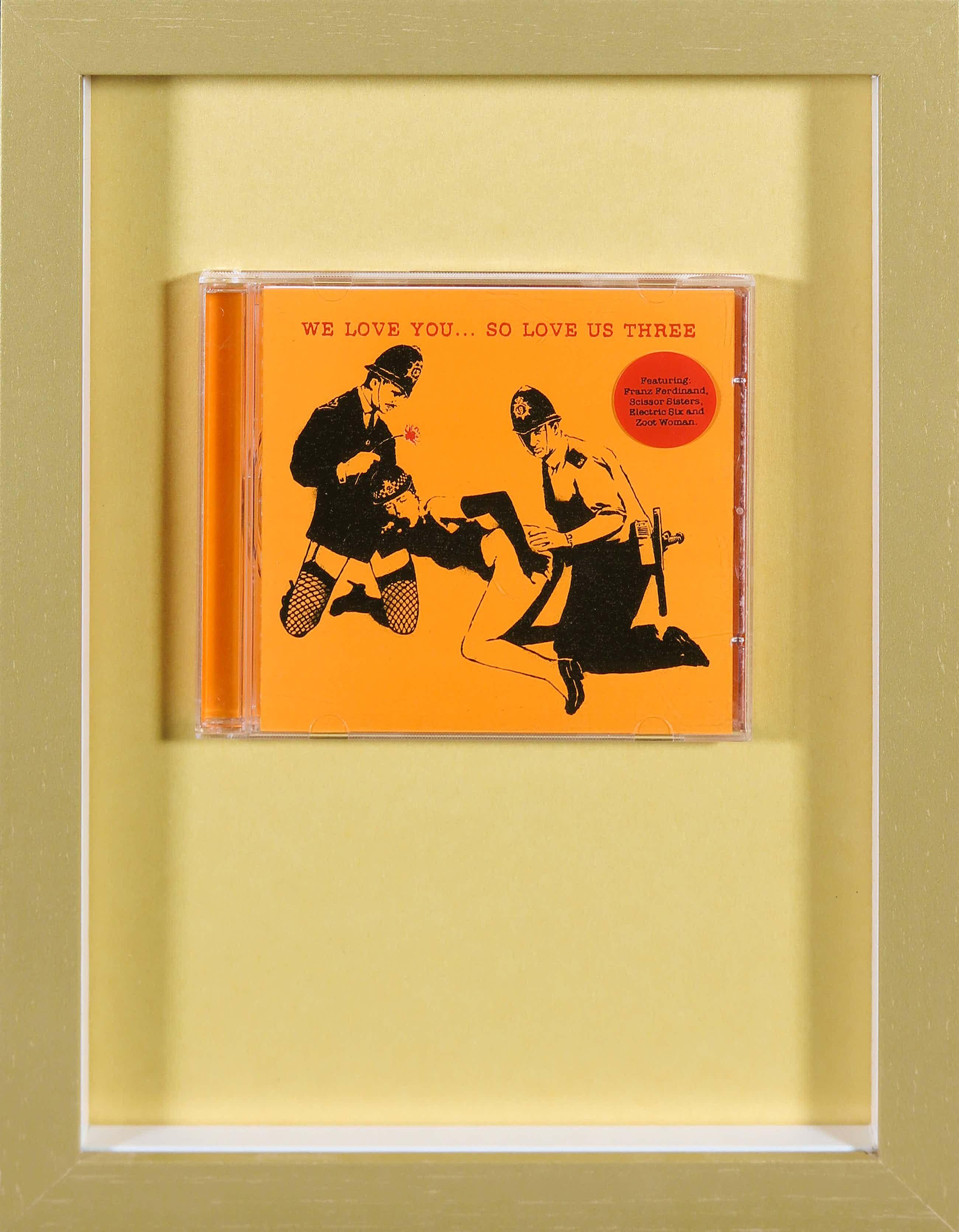 Banksy - We love you... so love us three (CD) kopen? Bied vanaf 44!