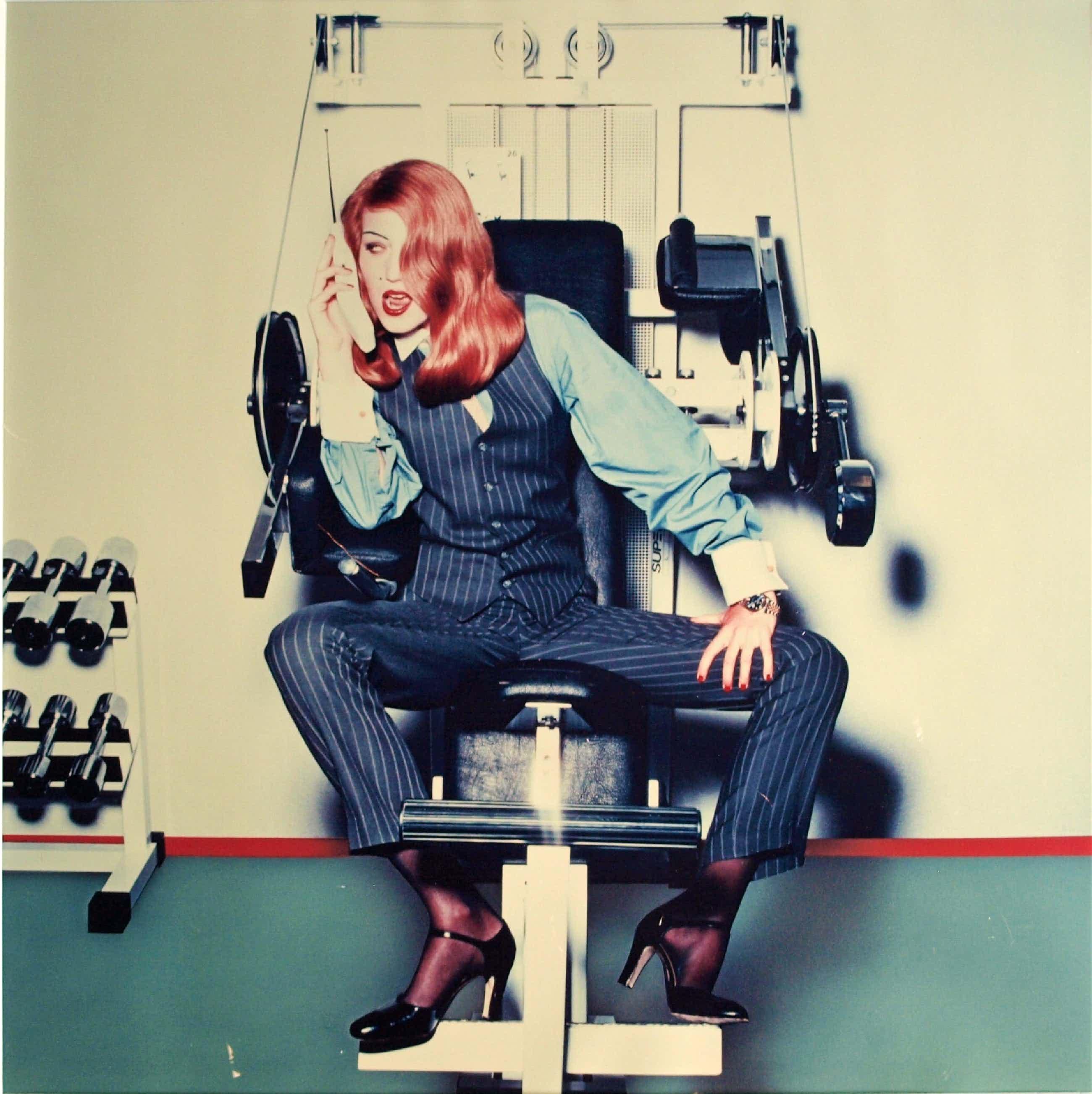 Inez van Lamsweerde - Ingelijste foto 'At Work' uit de Randstad-collectie + boek - 1991 kopen? Bied vanaf 480!