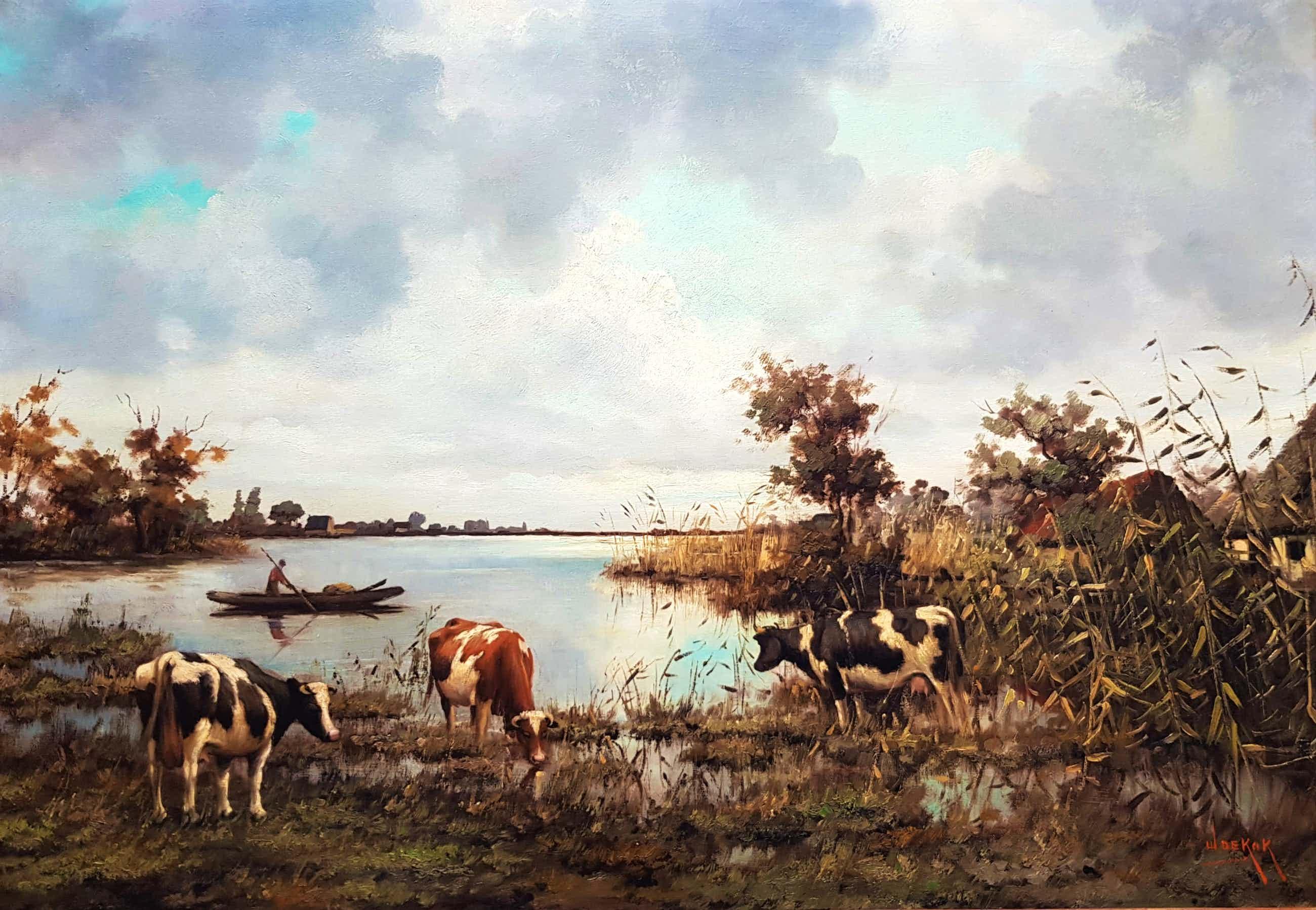 Willem de Kok - Drinkende koeien kopen? Bied vanaf 405!